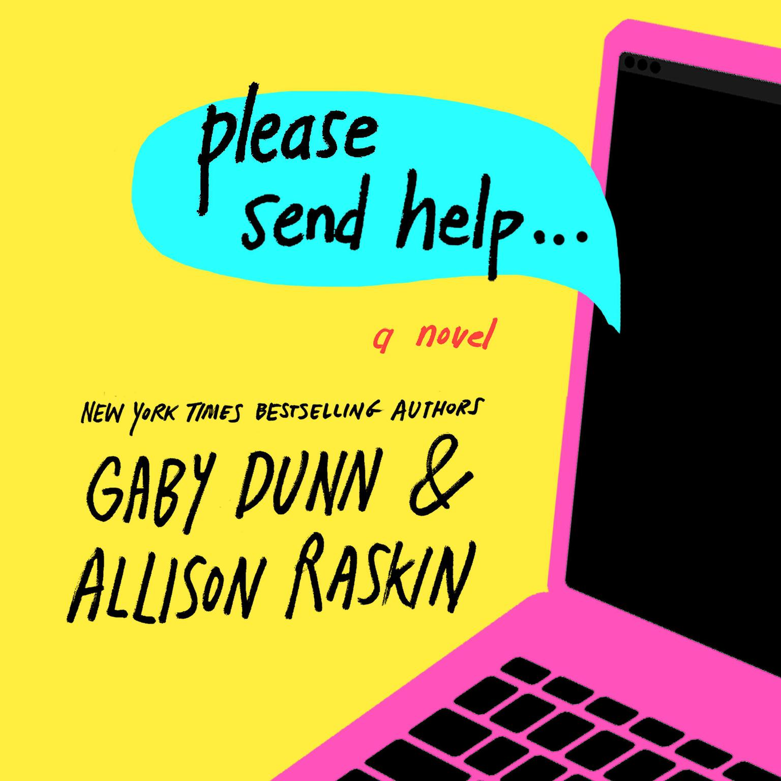 Printable Please Send Help: A Novel Audiobook Cover Art