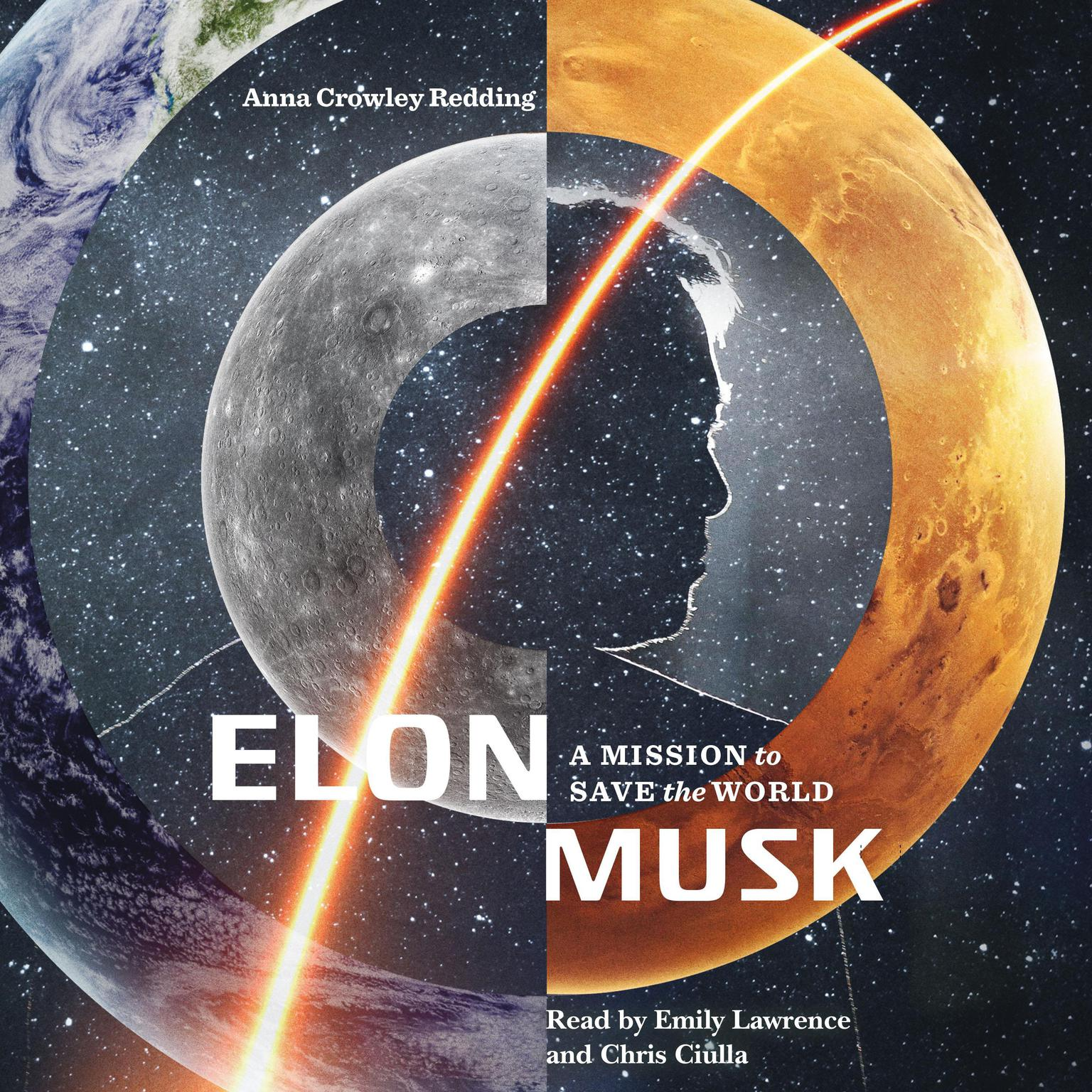Printable Elon Musk: A Mission to Save the World Audiobook Cover Art