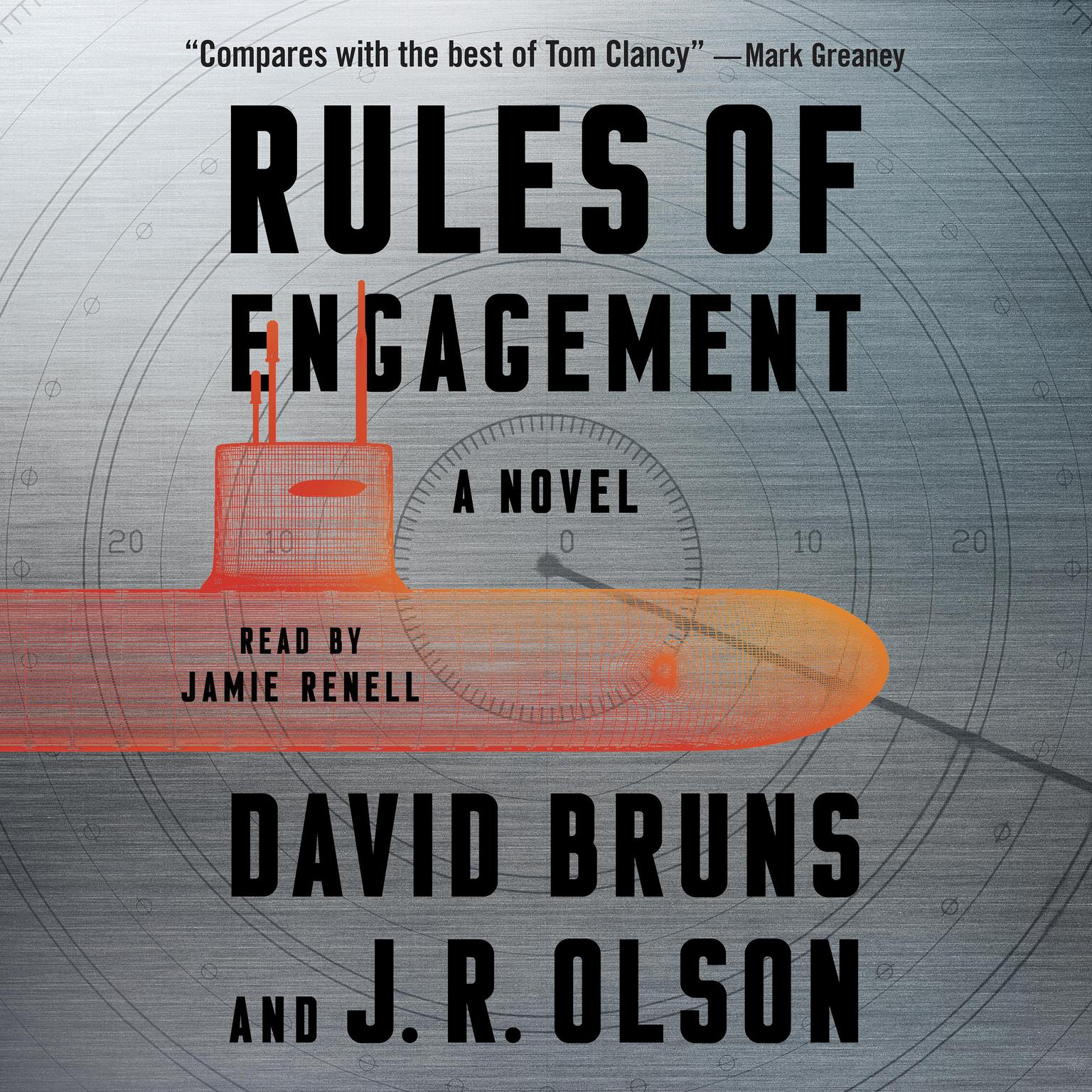 Printable Rules of Engagement: A Novel Audiobook Cover Art