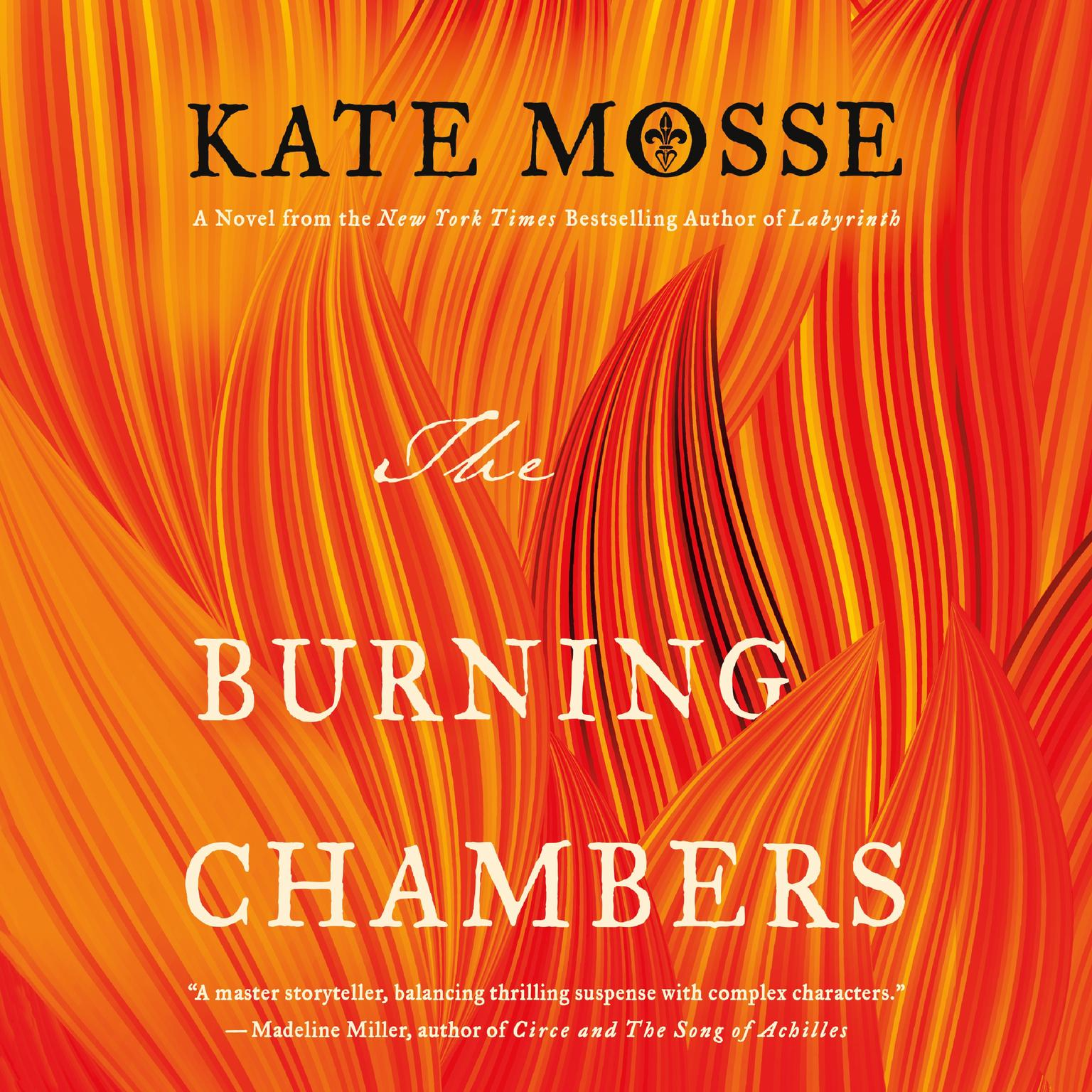 Printable The Burning Chambers Audiobook Cover Art