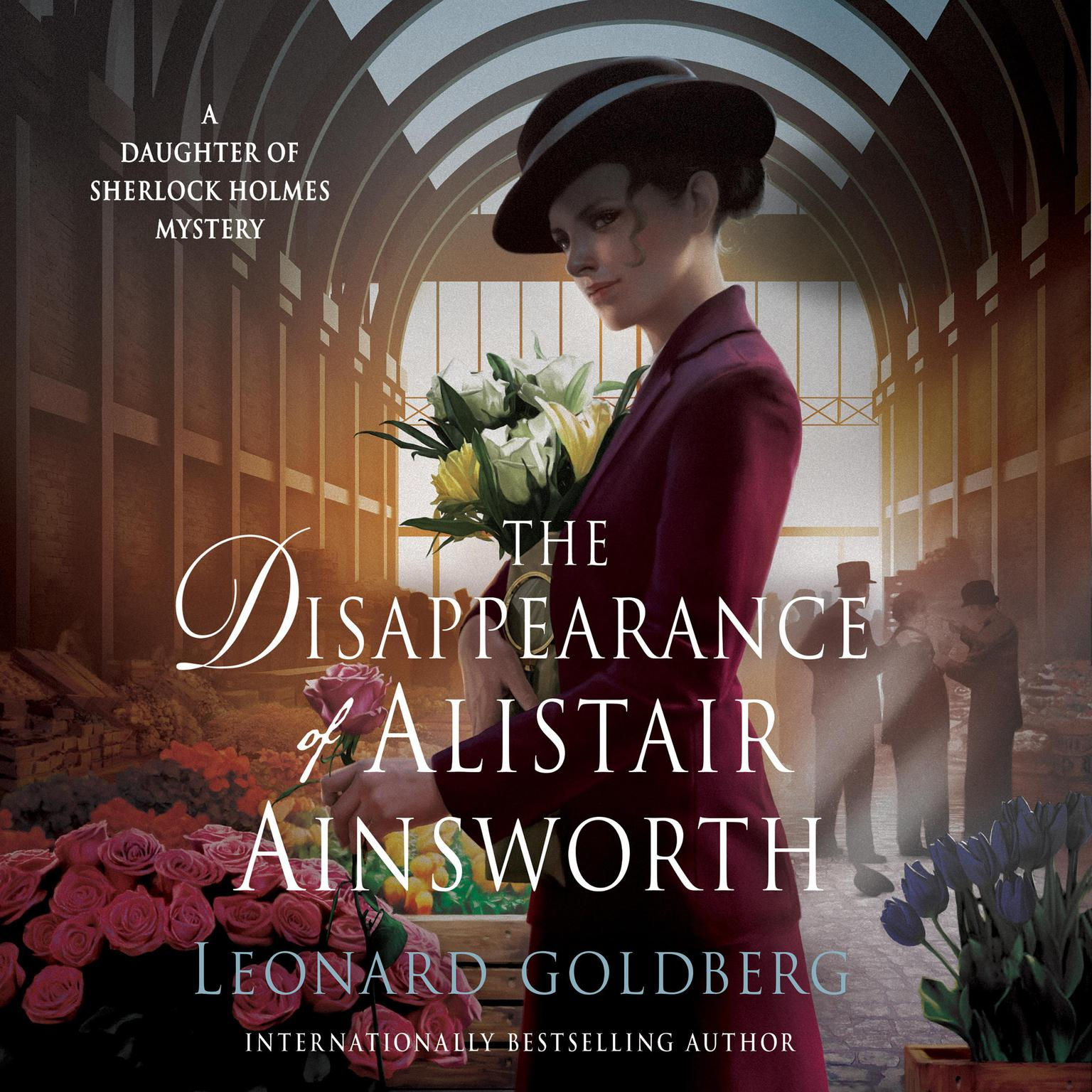 Printable The Disappearance of Alistair Ainsworth: A Daughter of Sherlock Holmes Mystery Audiobook Cover Art