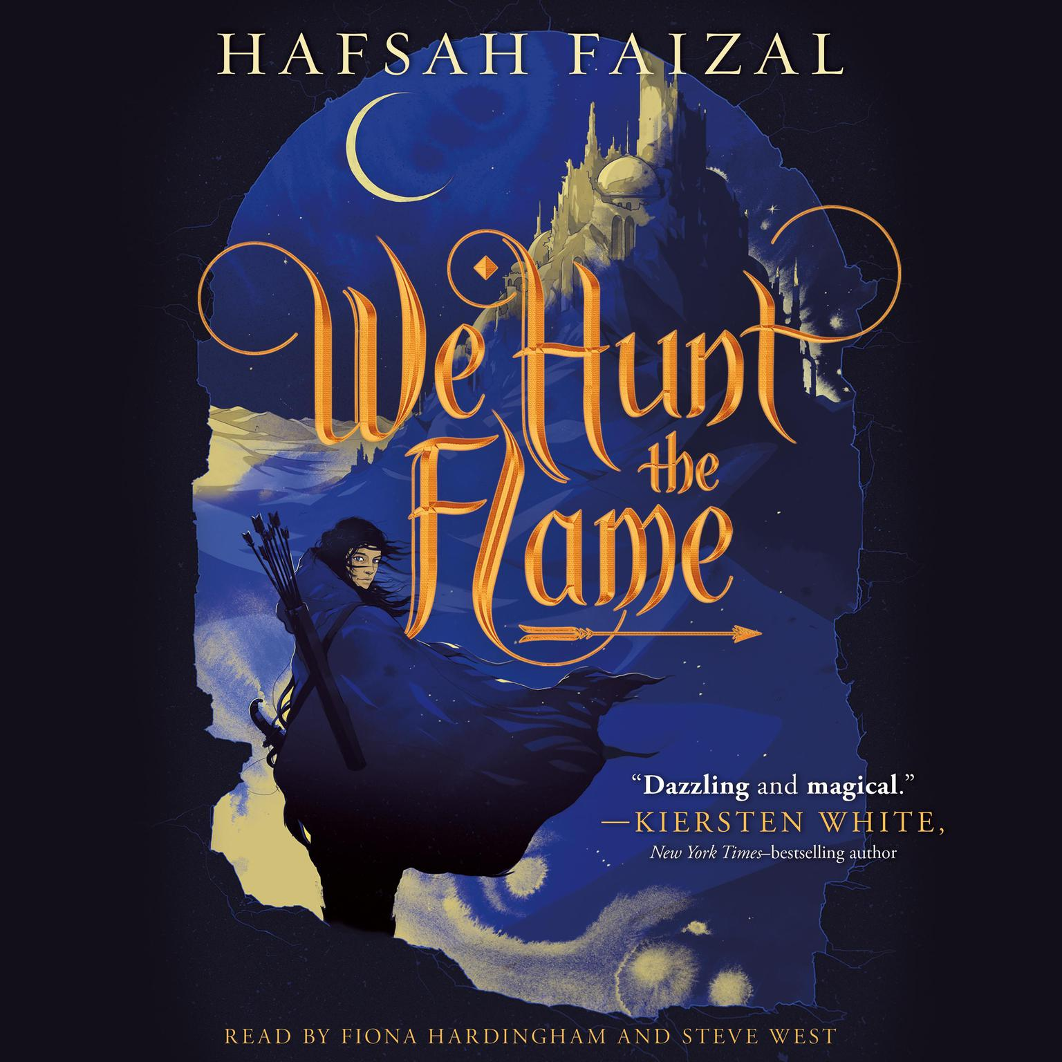 Printable We Hunt the Flame Audiobook Cover Art