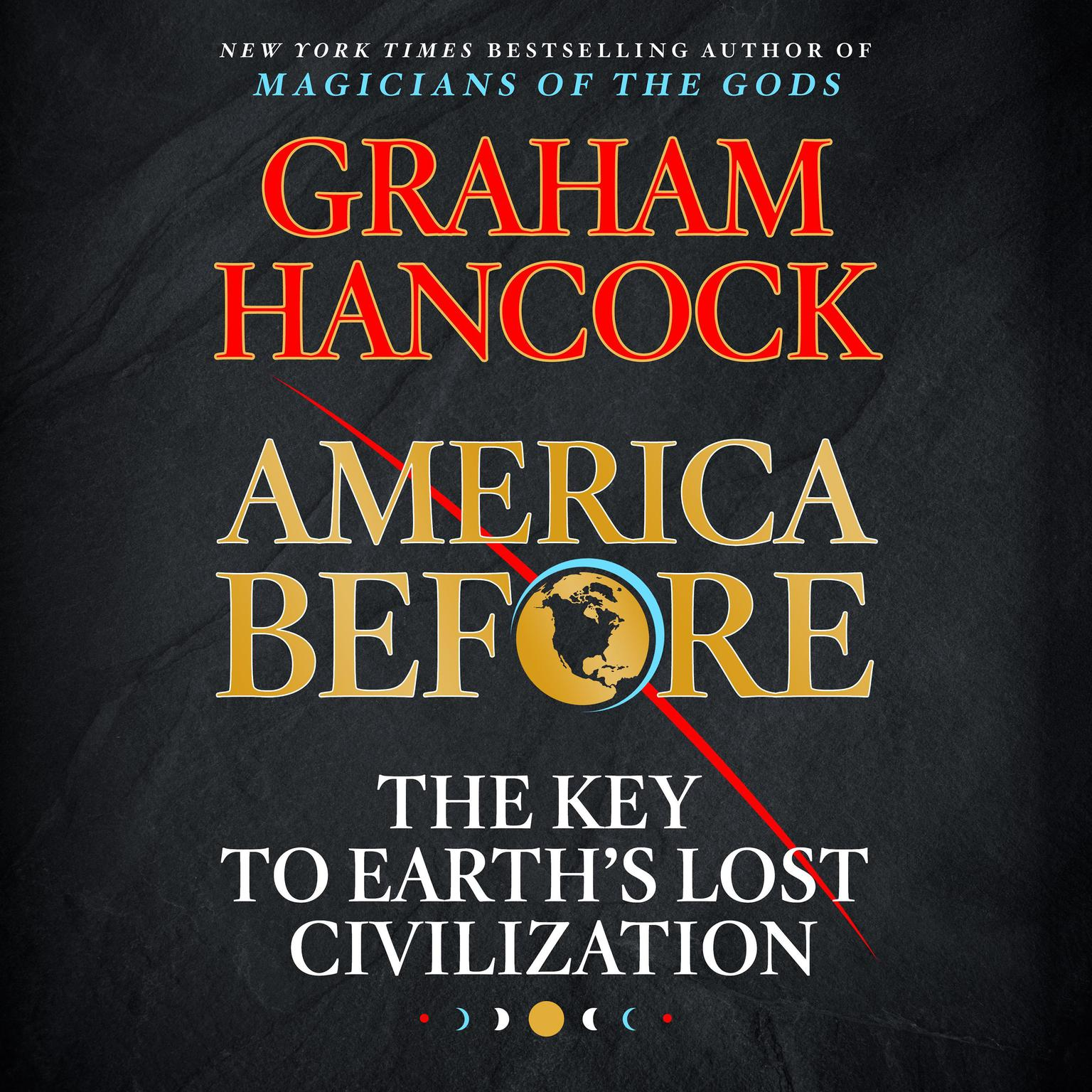 Printable America Before: The Key to Earth's Lost Civilization Audiobook Cover Art