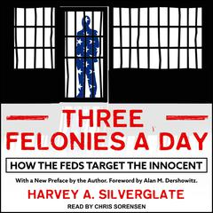 Three Felonies A Day: How the Feds Target the Innocent Audiobook, by Harvey Silverglate