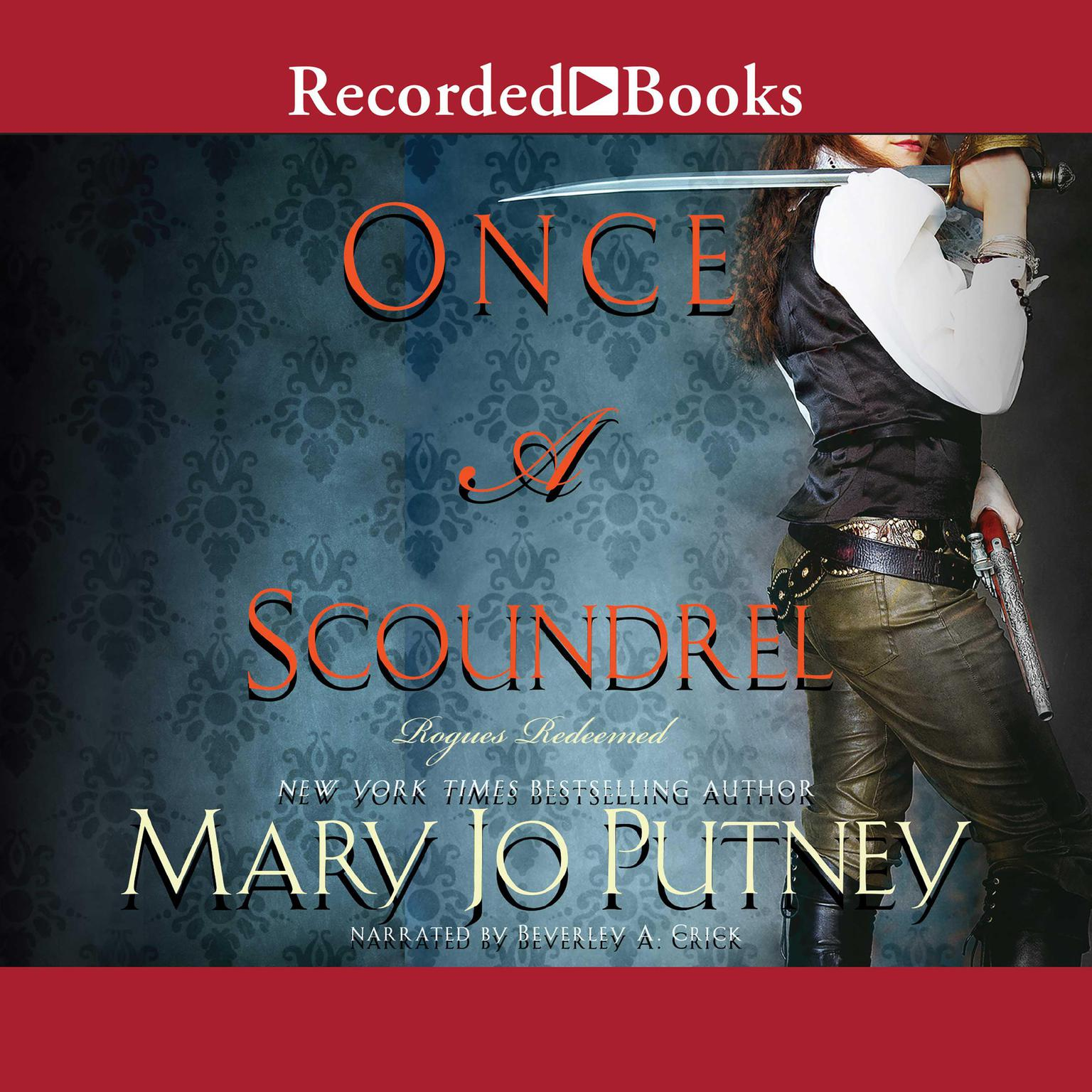 Printable Once a Scoundrel Audiobook Cover Art
