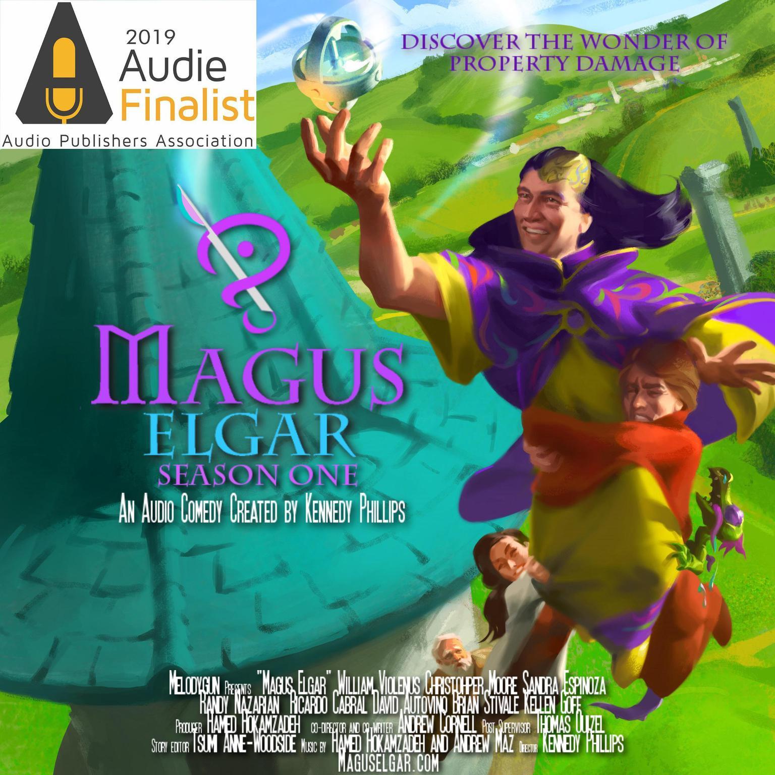 Printable Magus Elgar: Season One: Season One Audiobook Cover Art