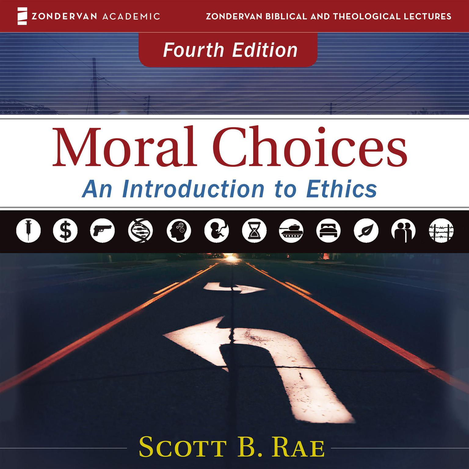 Printable Moral Choices: Audio Lectures: An Introduction to Ethics Audiobook Cover Art