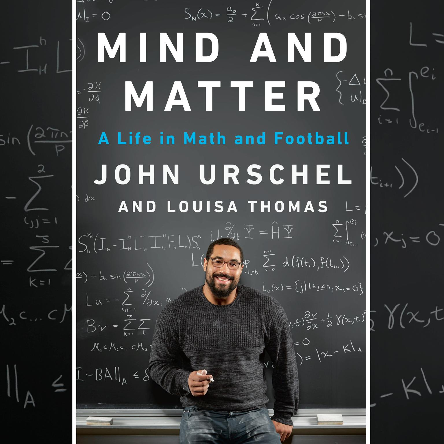 Printable Mind and Matter: A Life in Math and Football Audiobook Cover Art
