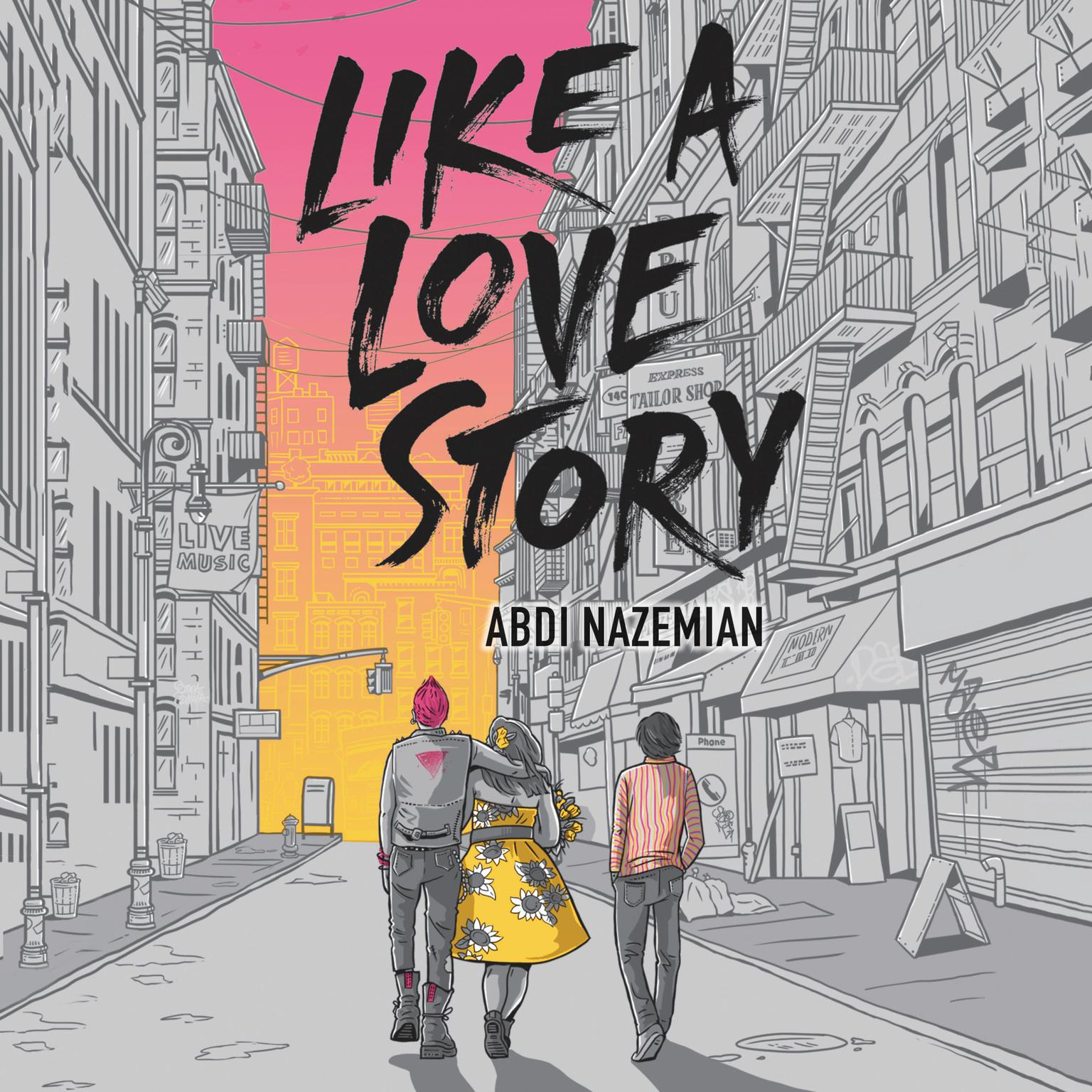 Printable Like a Love Story Audiobook Cover Art