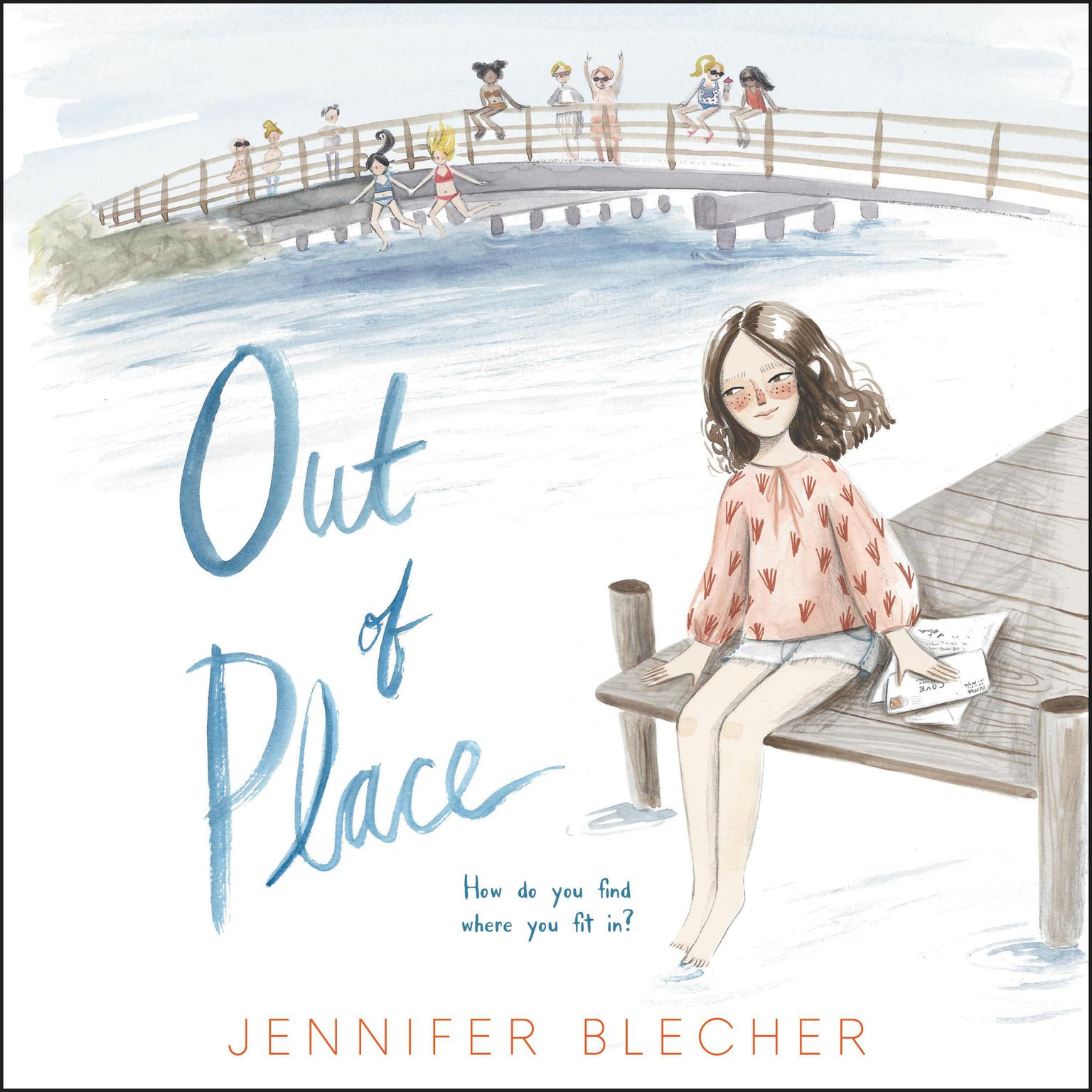 Printable Out of Place Audiobook Cover Art