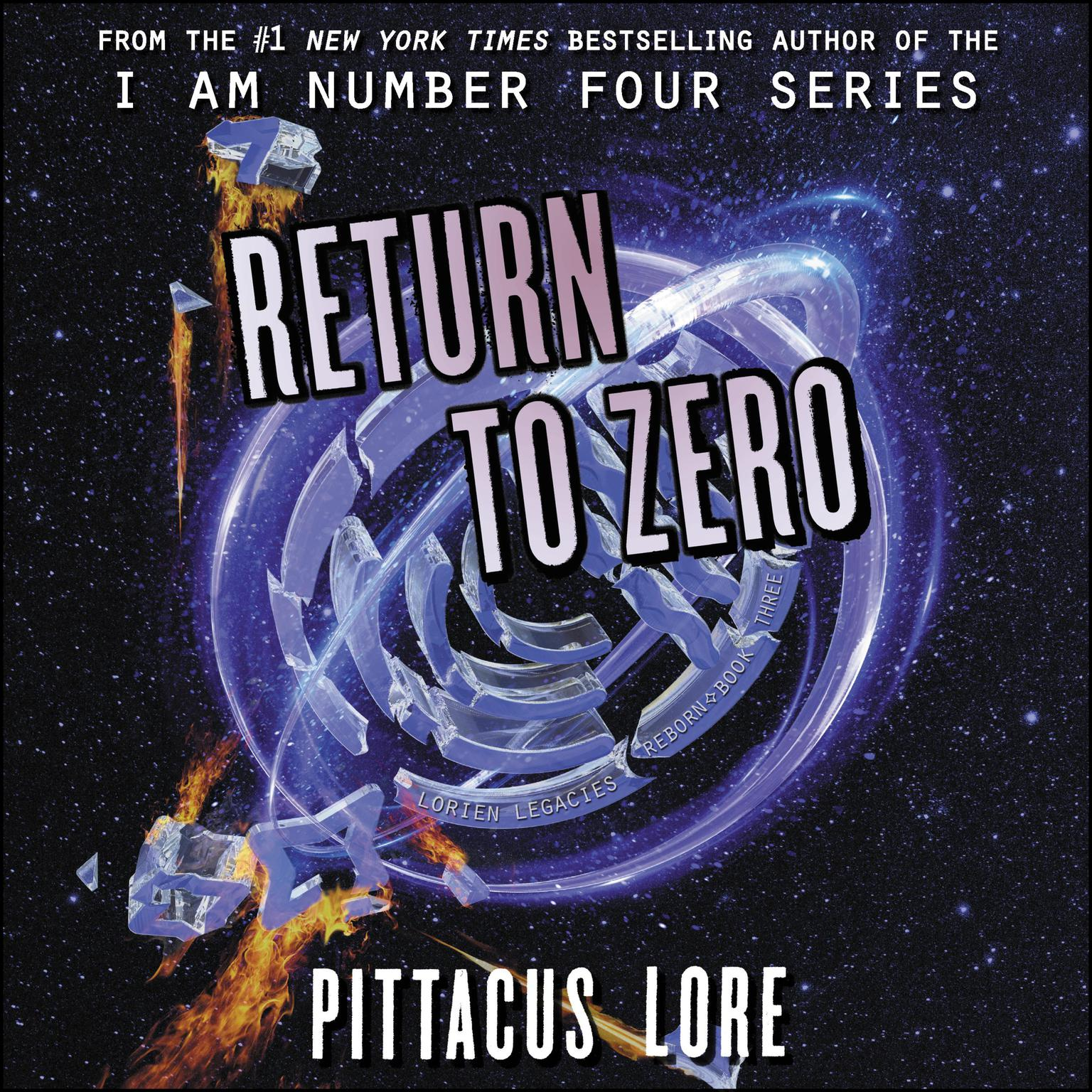 Printable Return to Zero Audiobook Cover Art