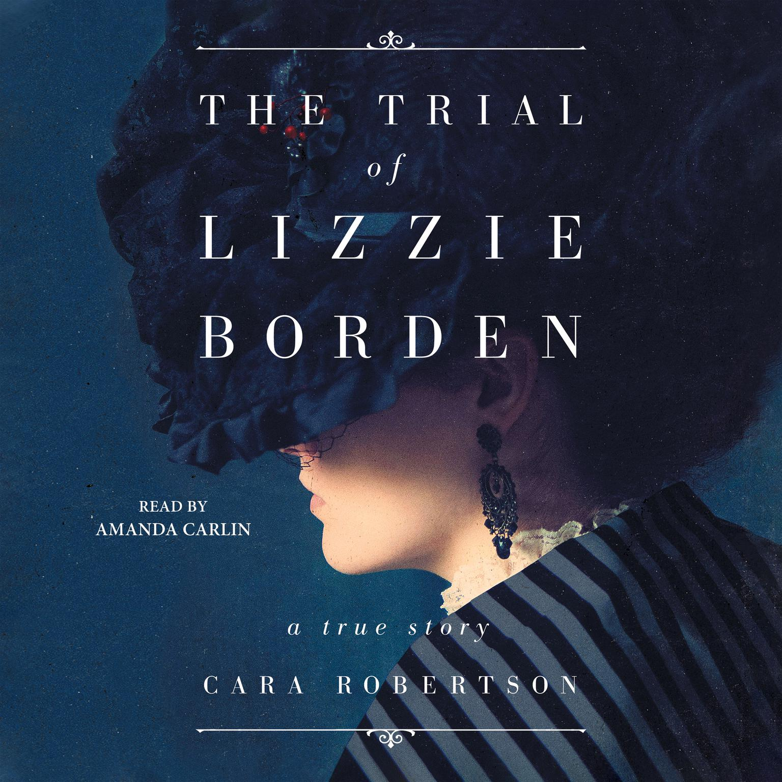 Printable The Trial of Lizzie Borden Audiobook Cover Art