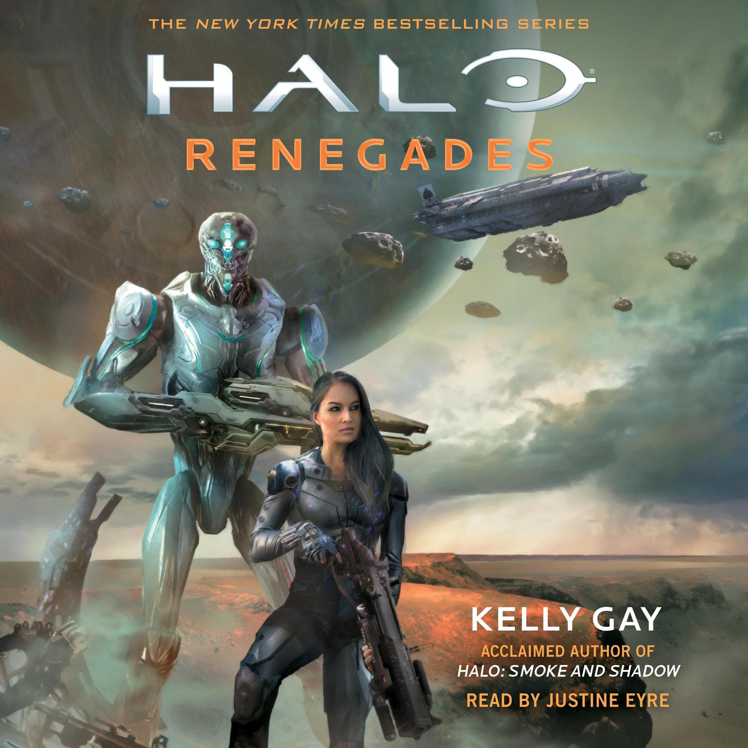 Printable HALO: Renegades Audiobook Cover Art