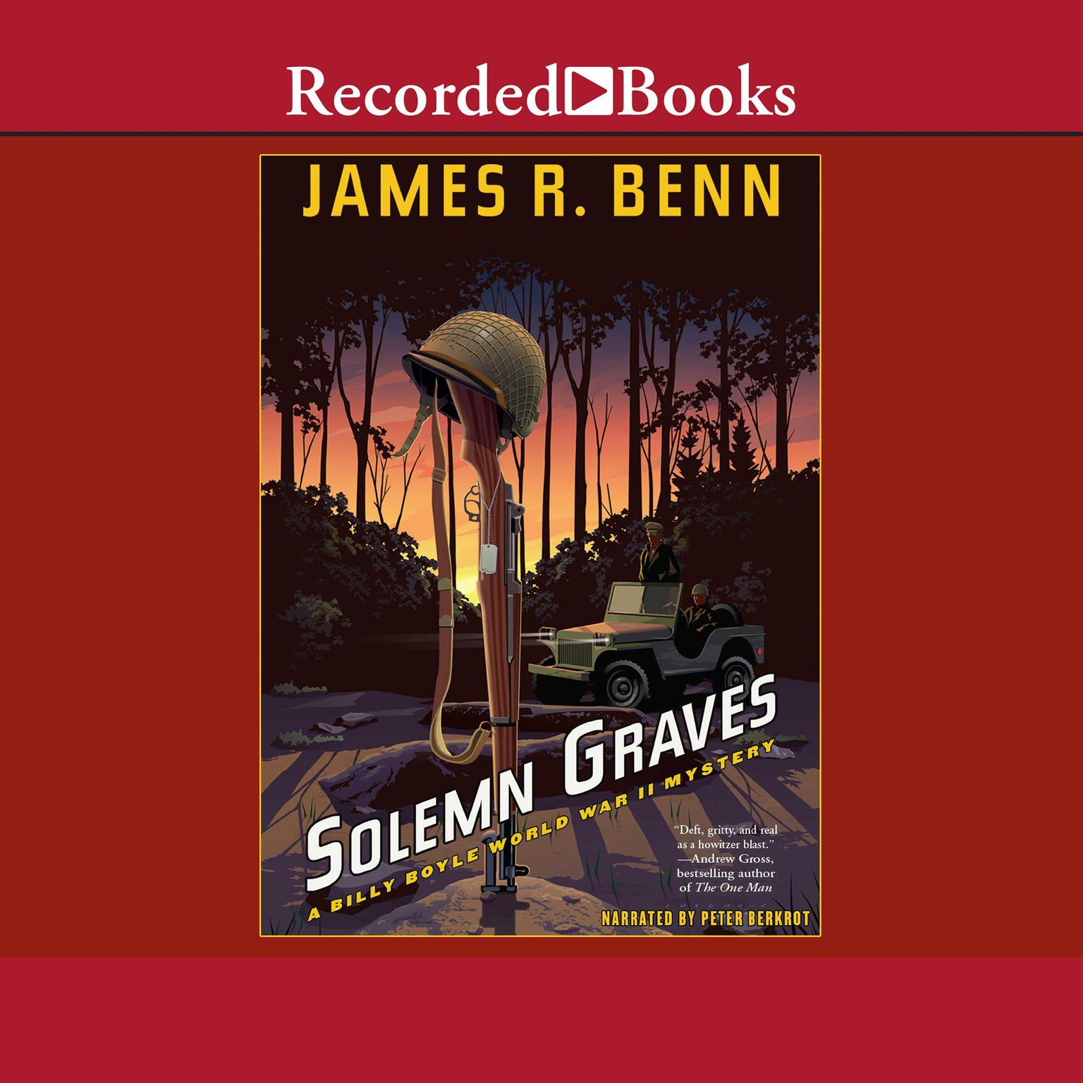 Solemn Graves Audiobook, by James R. Benn
