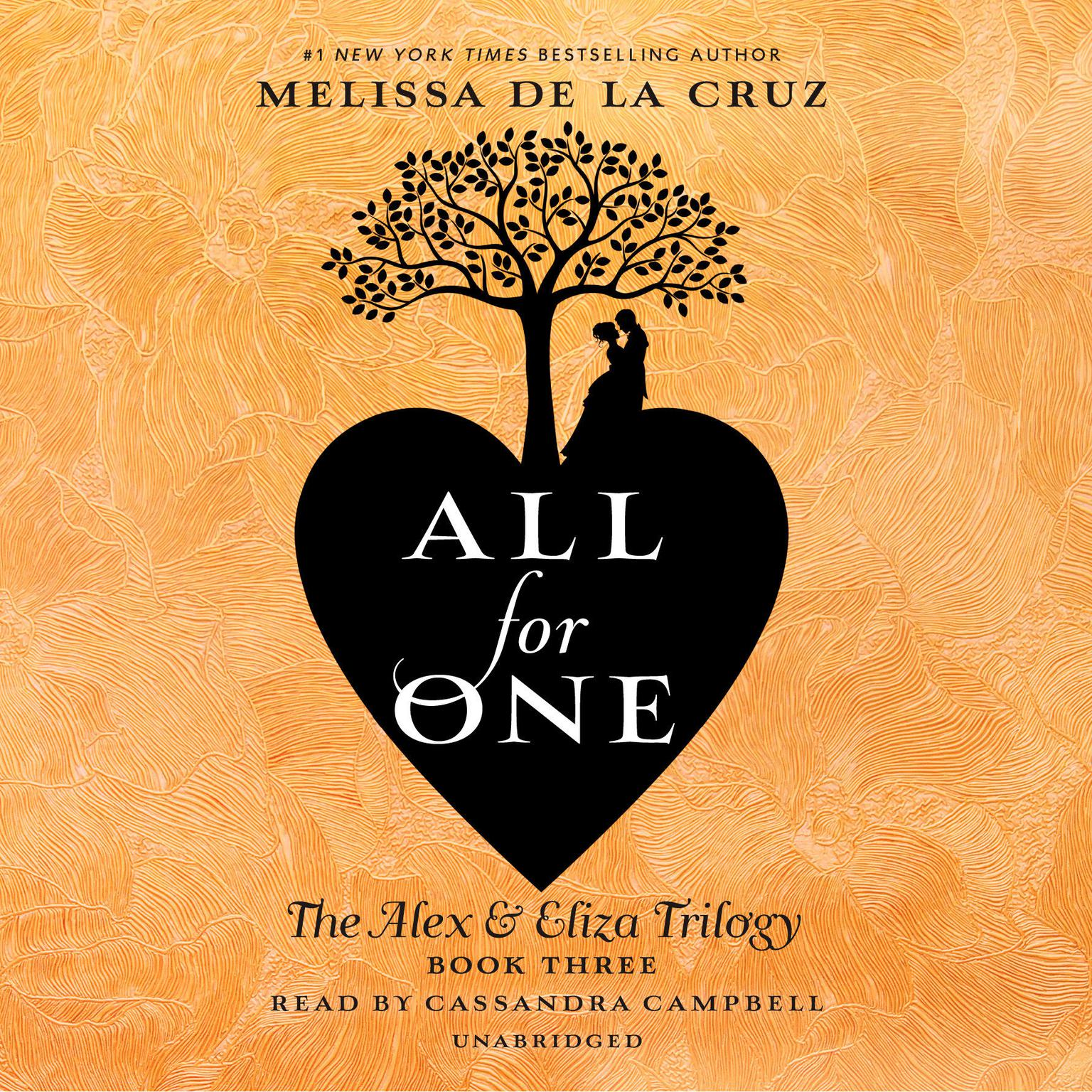 Printable All for One: The Alex & Eliza Trilogy Audiobook Cover Art