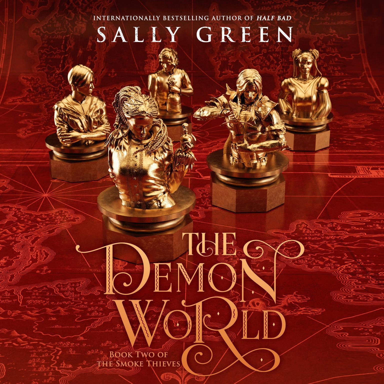 Printable The Demon World Audiobook Cover Art