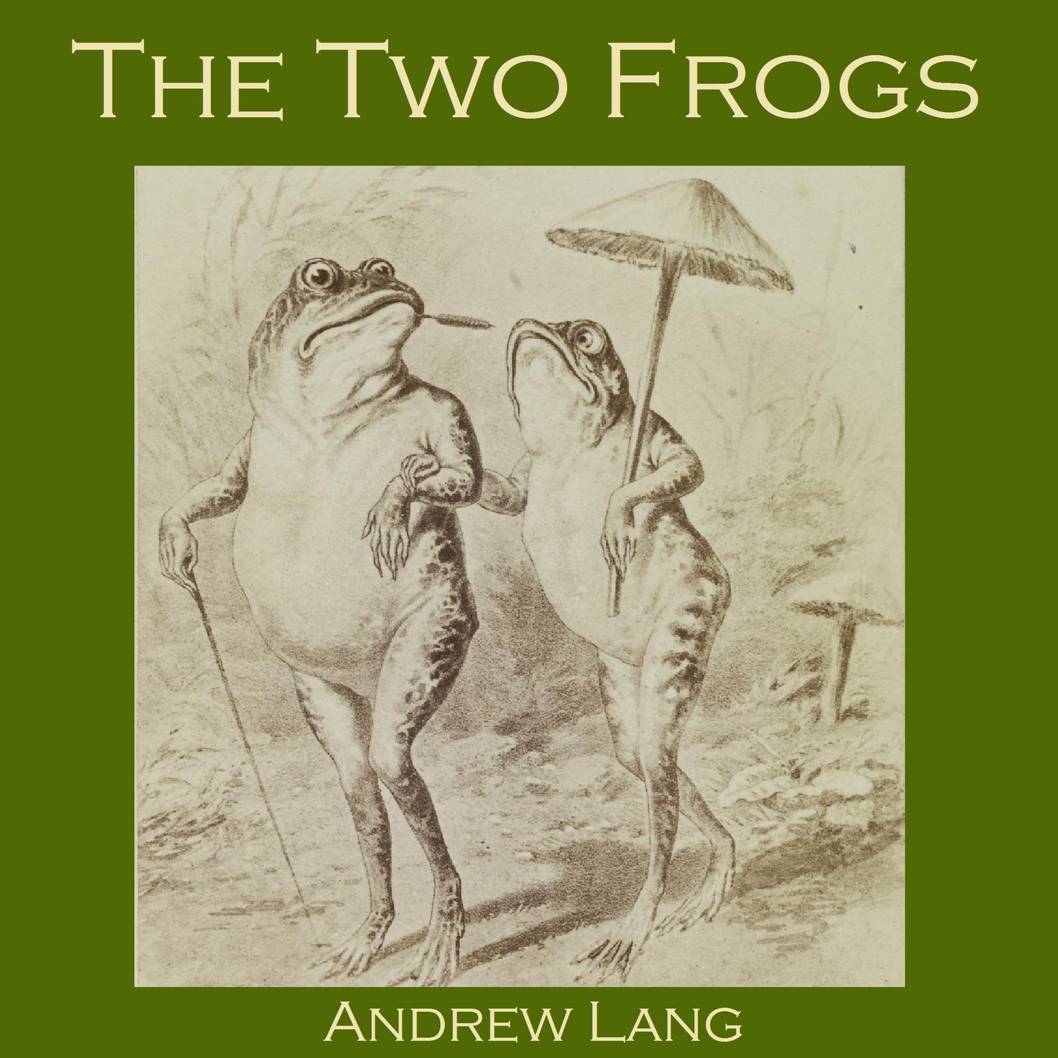 Printable The Two Frogs: A Japanese Fairy Tale Audiobook Cover Art