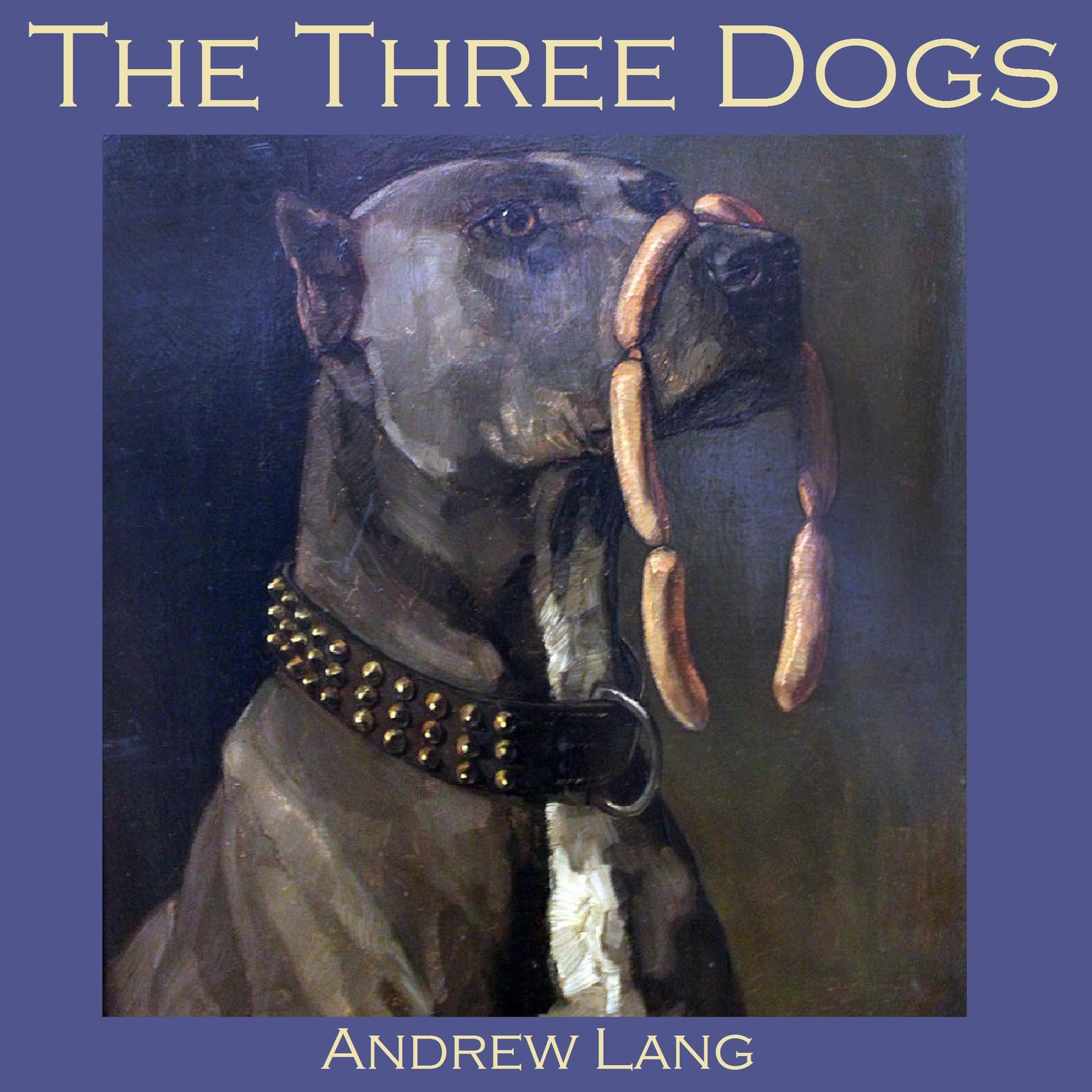 Printable The Three Dogs Audiobook Cover Art