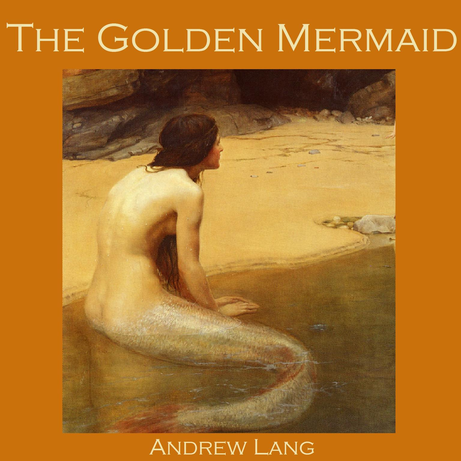 Printable The Golden Mermaid Audiobook Cover Art