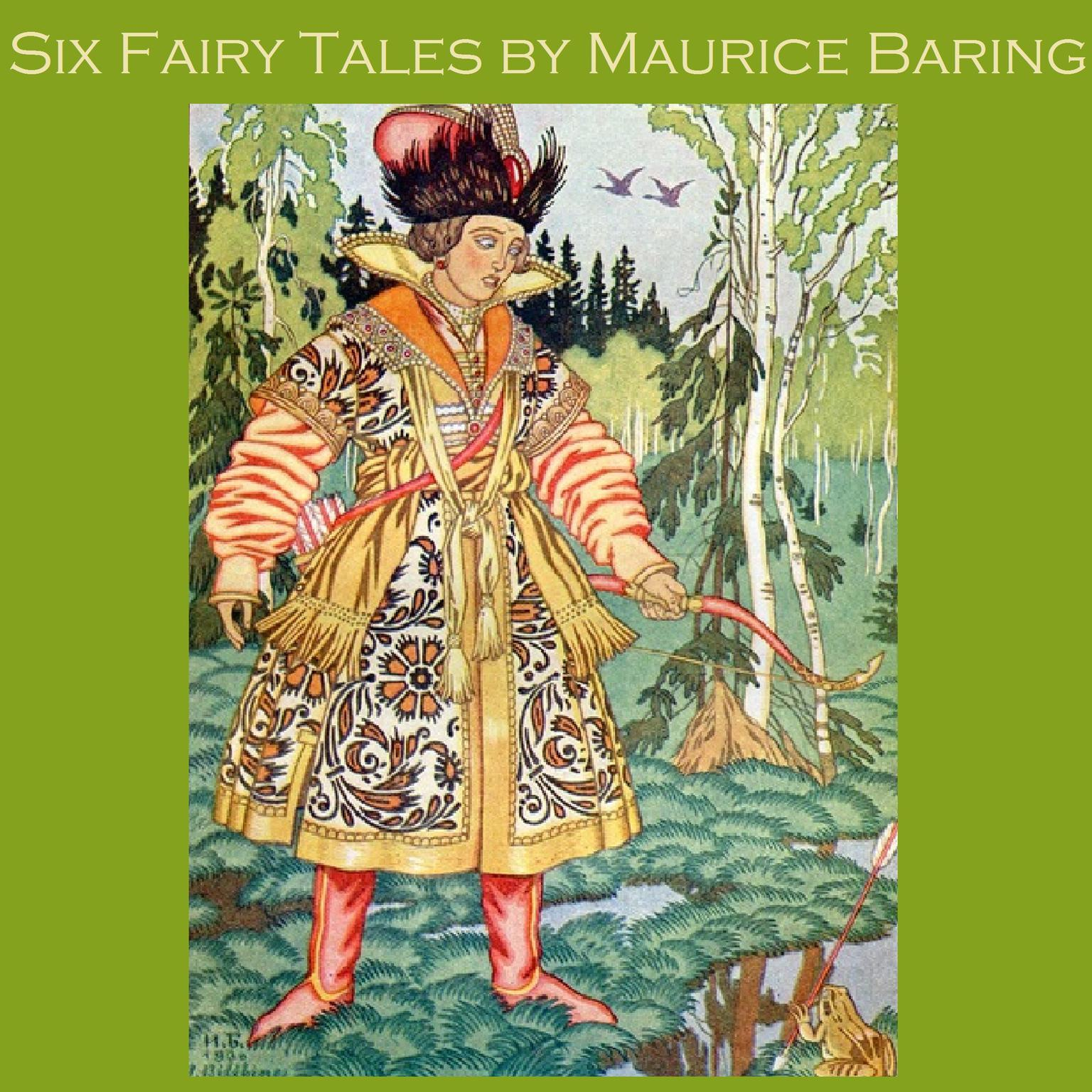 Printable Six Fairy Tales by Maurice Baring Audiobook Cover Art