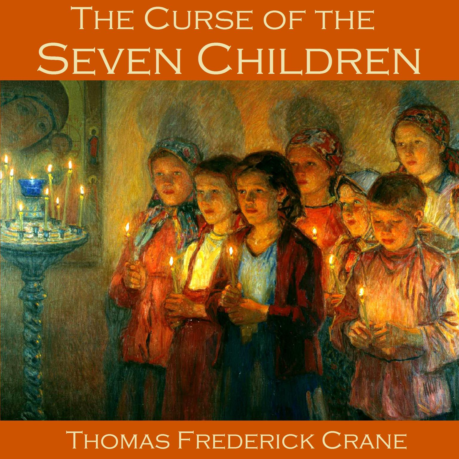 Printable The Curse of the Seven Children Audiobook Cover Art