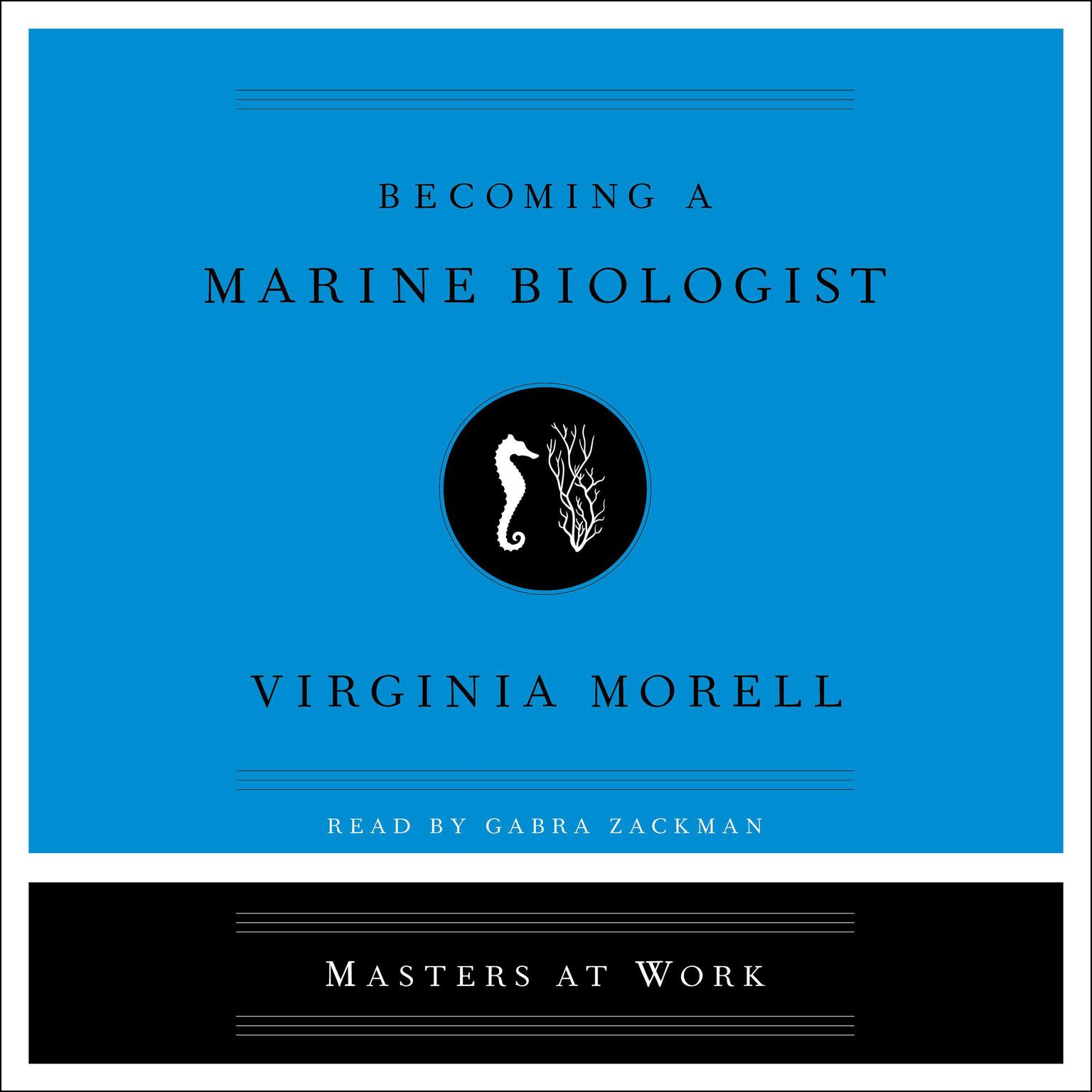 Printable Becoming a Marine Biologist Audiobook Cover Art