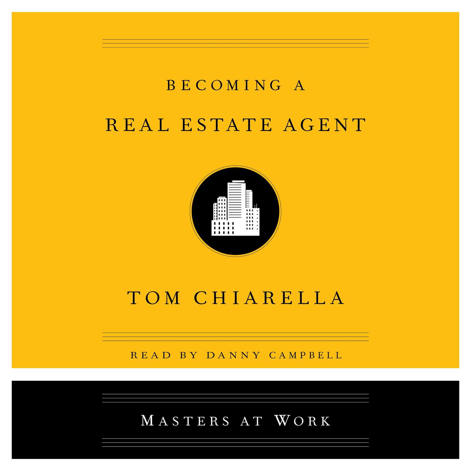 Printable Becoming a Real Estate Agent Audiobook Cover Art