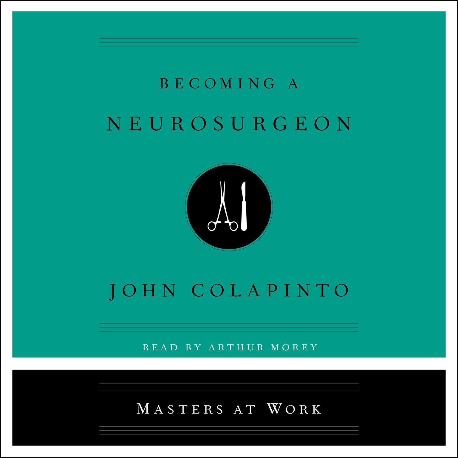 Printable Becoming a Neurosurgeon Audiobook Cover Art