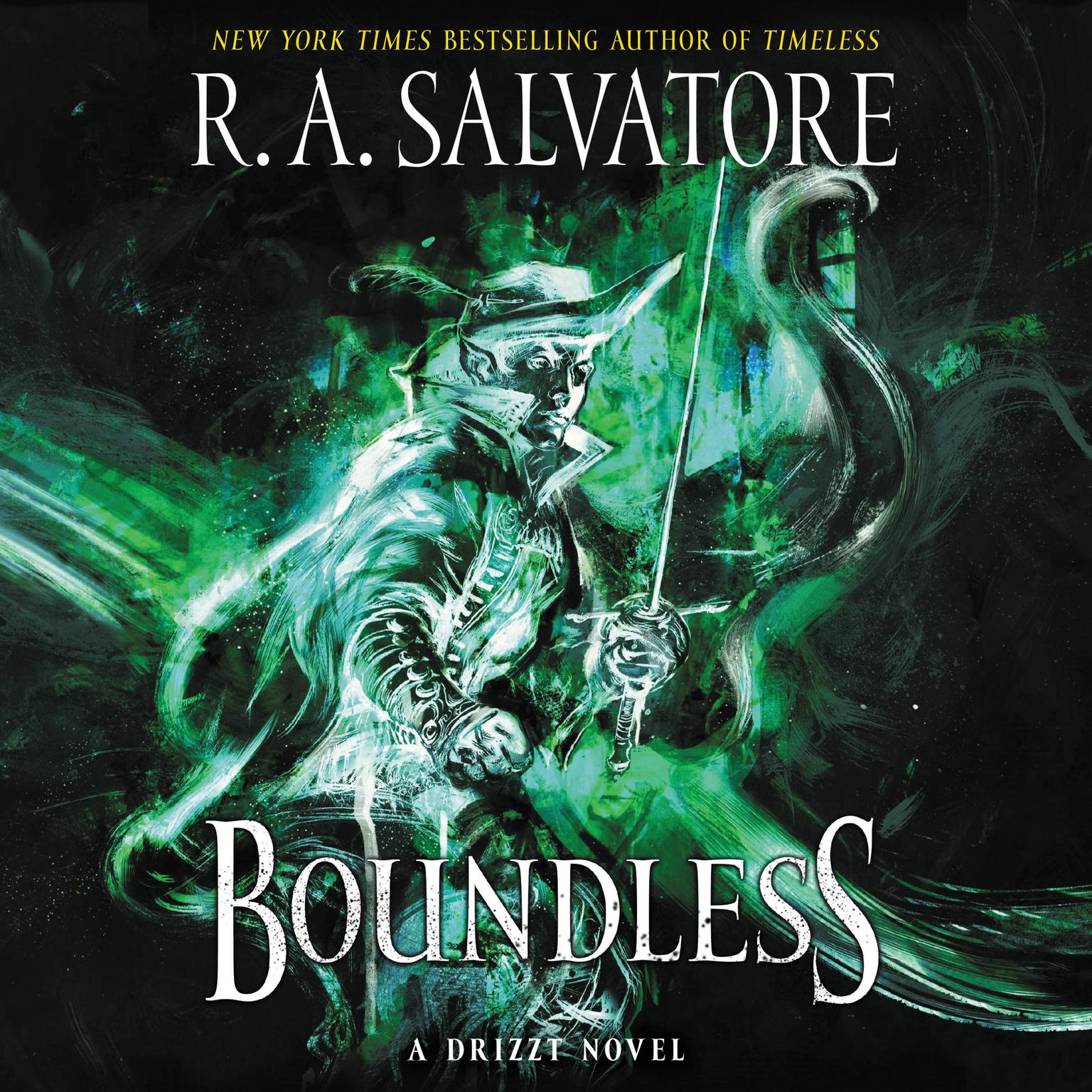 Printable Boundless: A Drizzt Novel Audiobook Cover Art