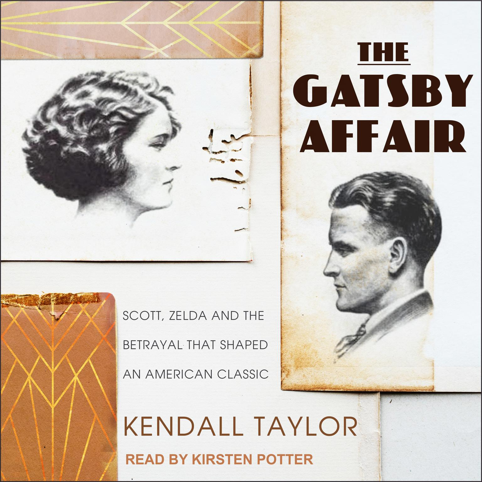 Printable The Gatsby Affair: Scott, Zelda, and the Betrayal that Shaped an American Classic Audiobook Cover Art