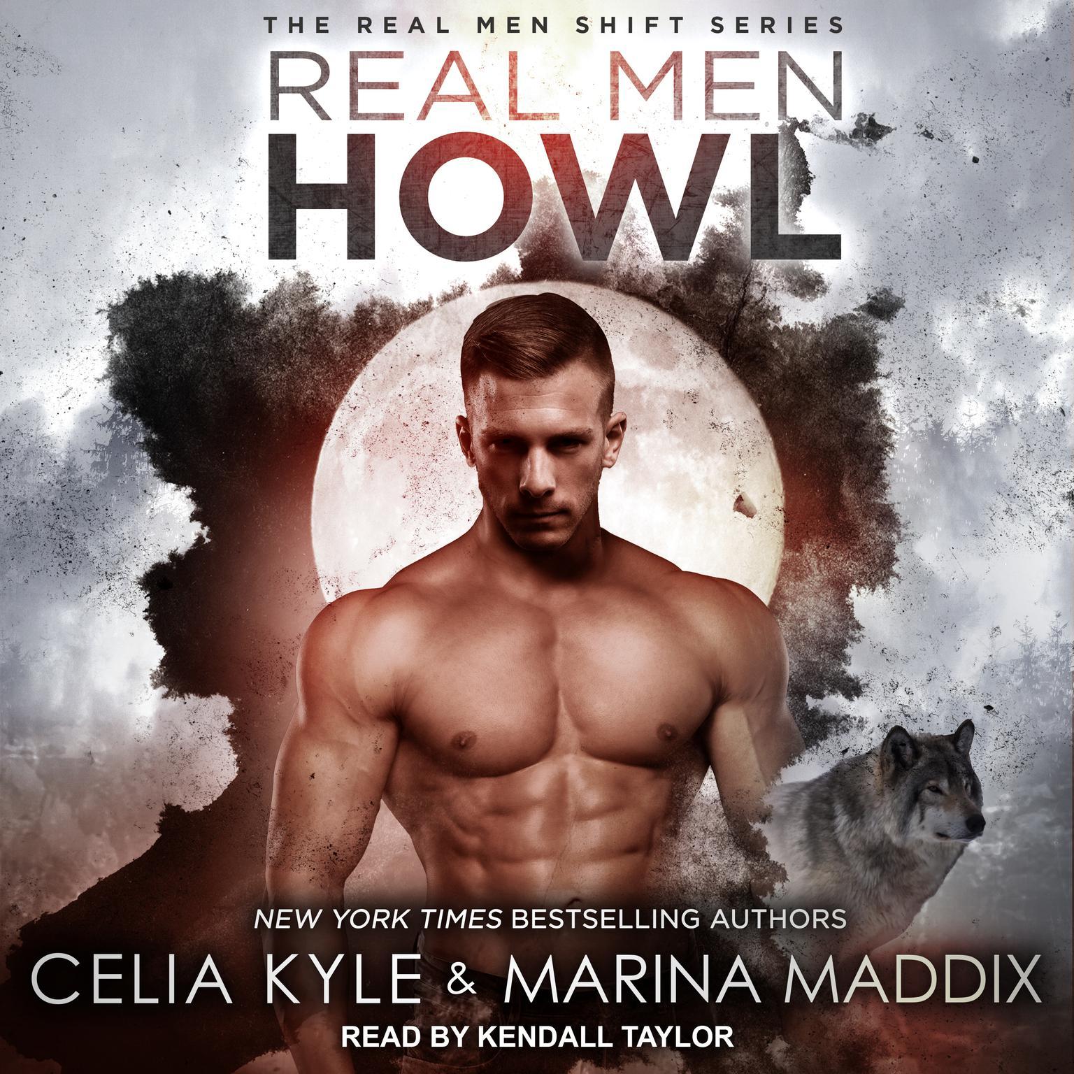 Printable Real Men Howl Audiobook Cover Art