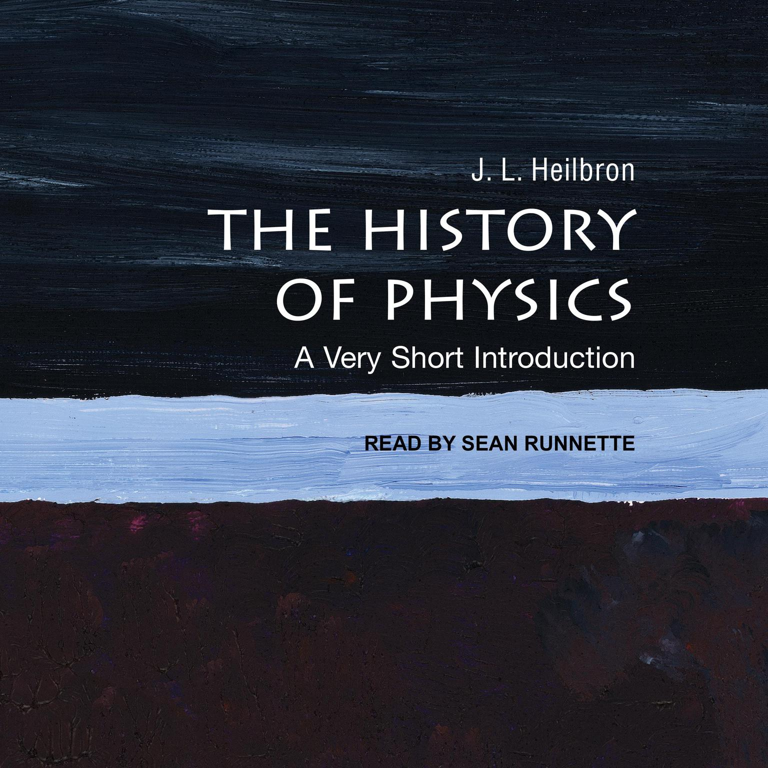 Printable The History of Physics: A Very Short Introduction Audiobook Cover Art