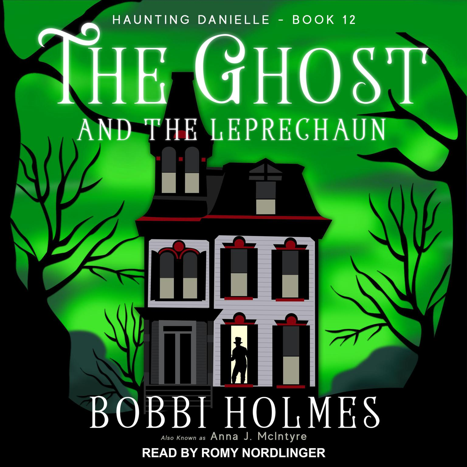 Printable The Ghost and the Leprechaun  Audiobook Cover Art