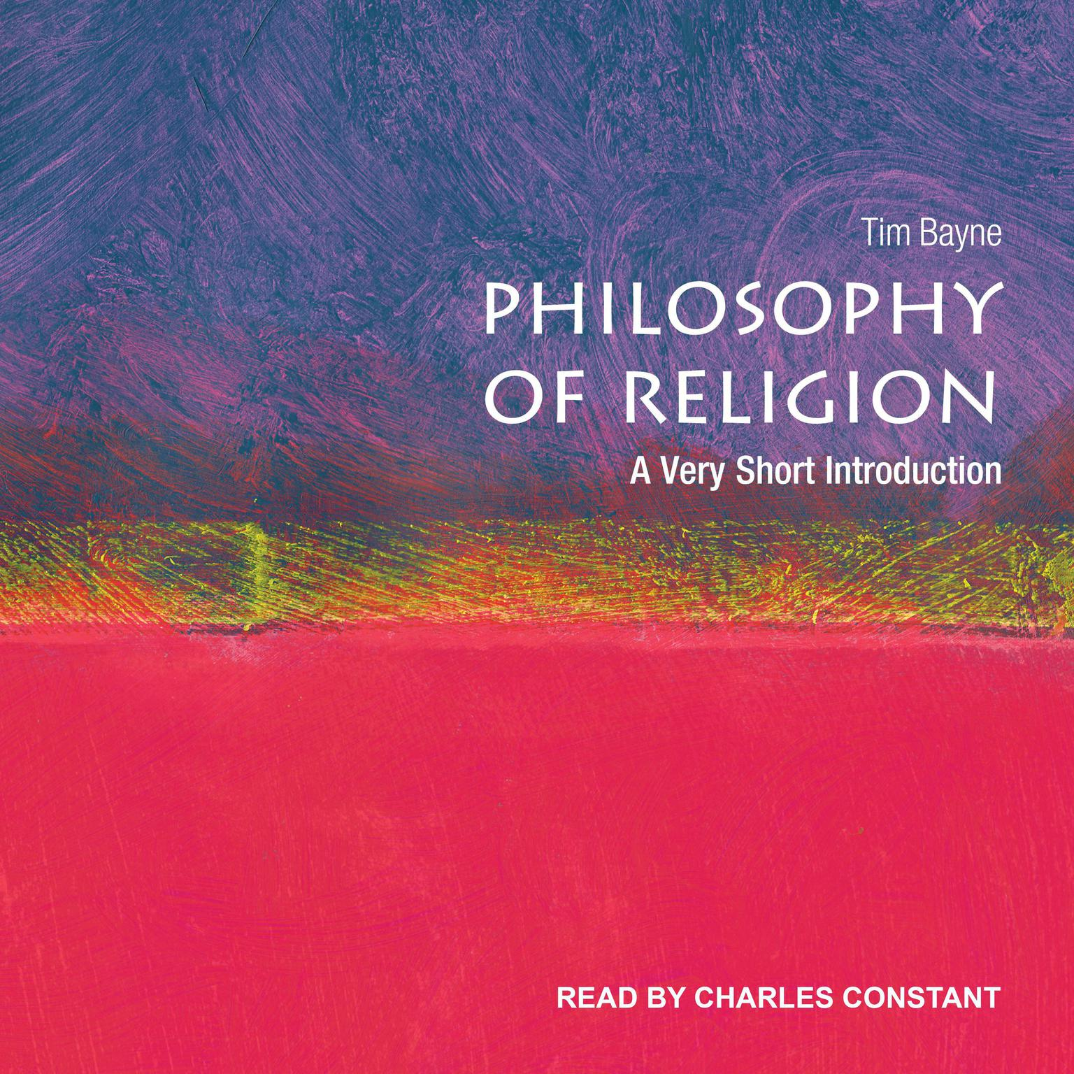 Printable Philosophy of Religion: A Very Short Introduction Audiobook Cover Art