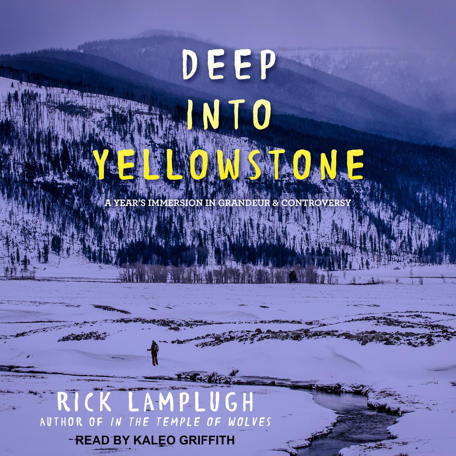 Printable Deep into Yellowstone: A Year's Immersion in Grandeur and Controversy Audiobook Cover Art
