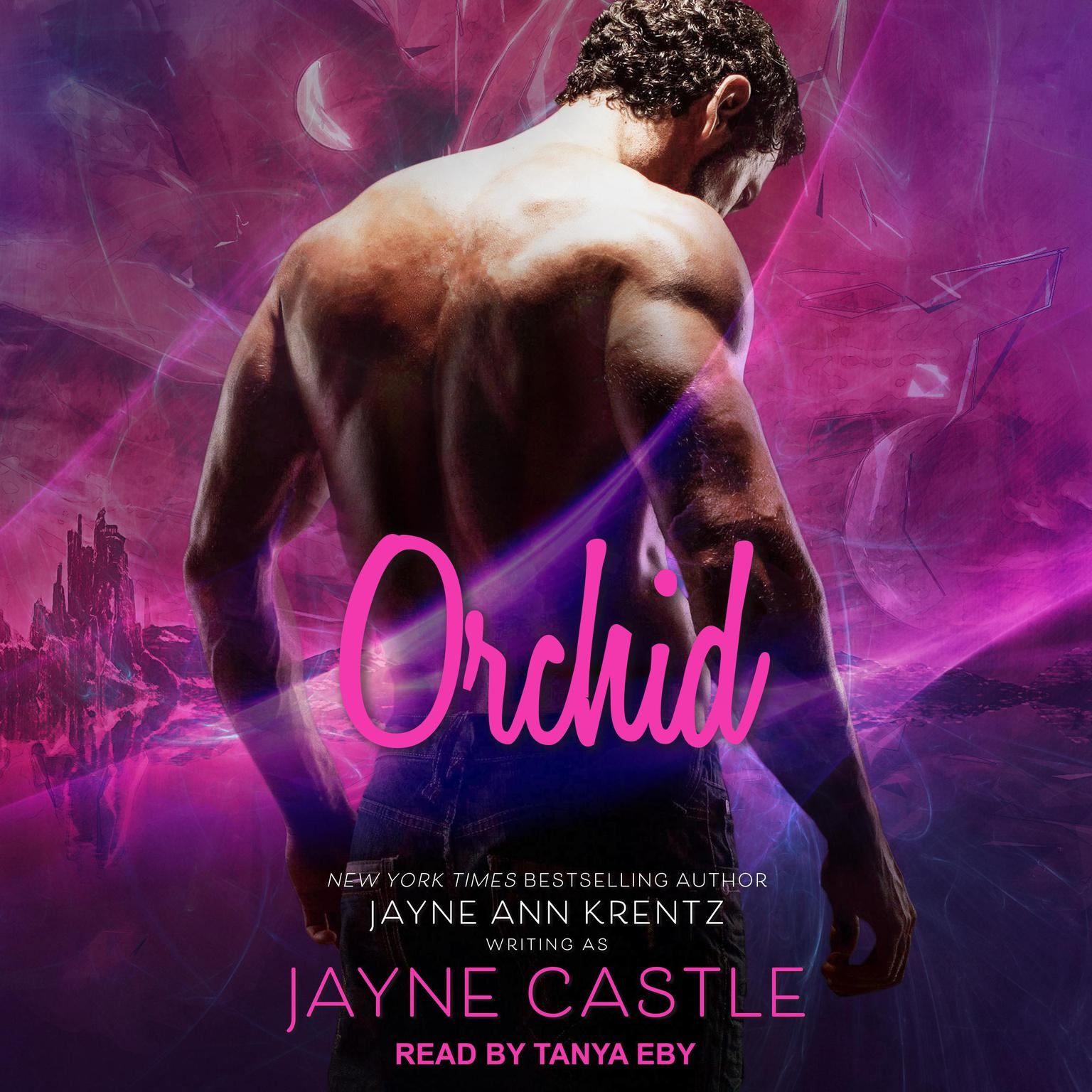 Printable Orchid Audiobook Cover Art