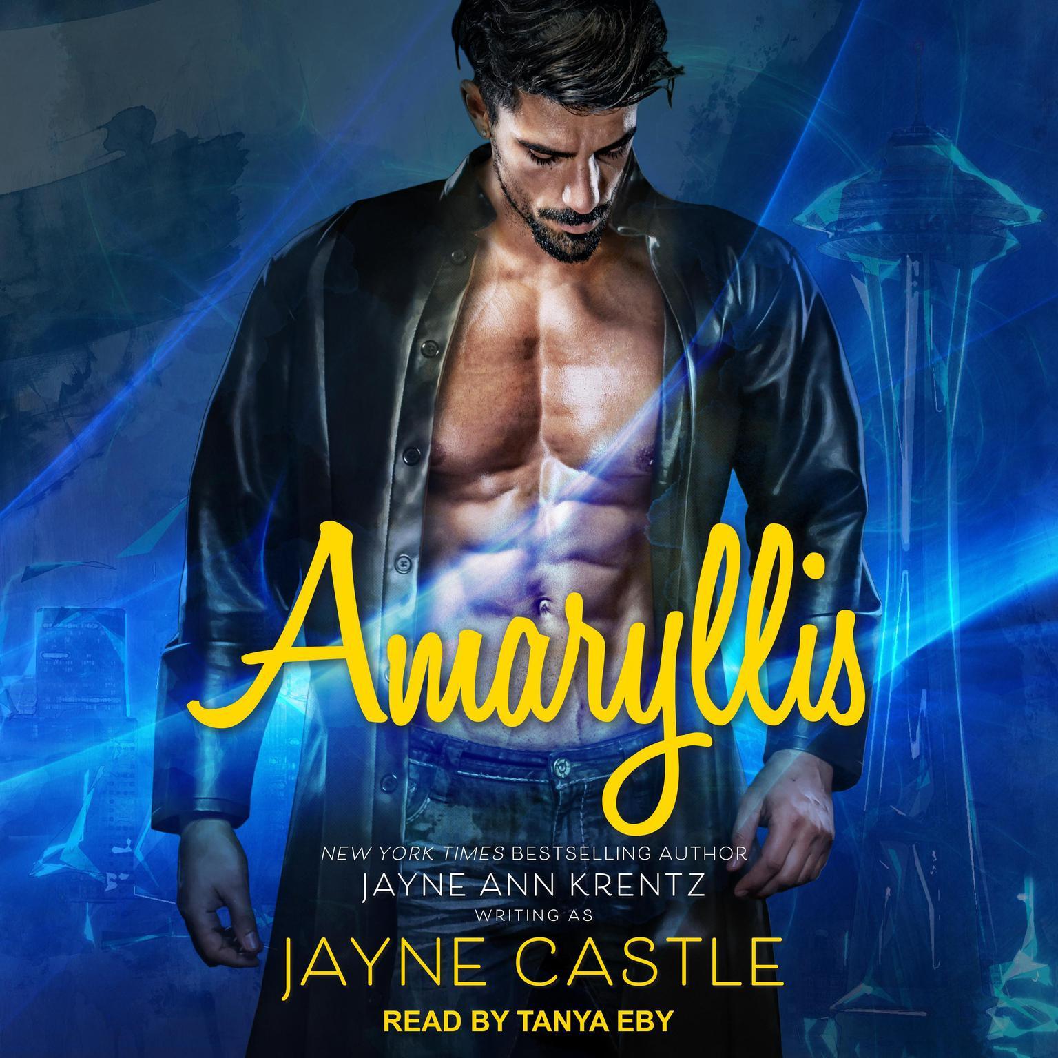 Printable Amaryllis Audiobook Cover Art