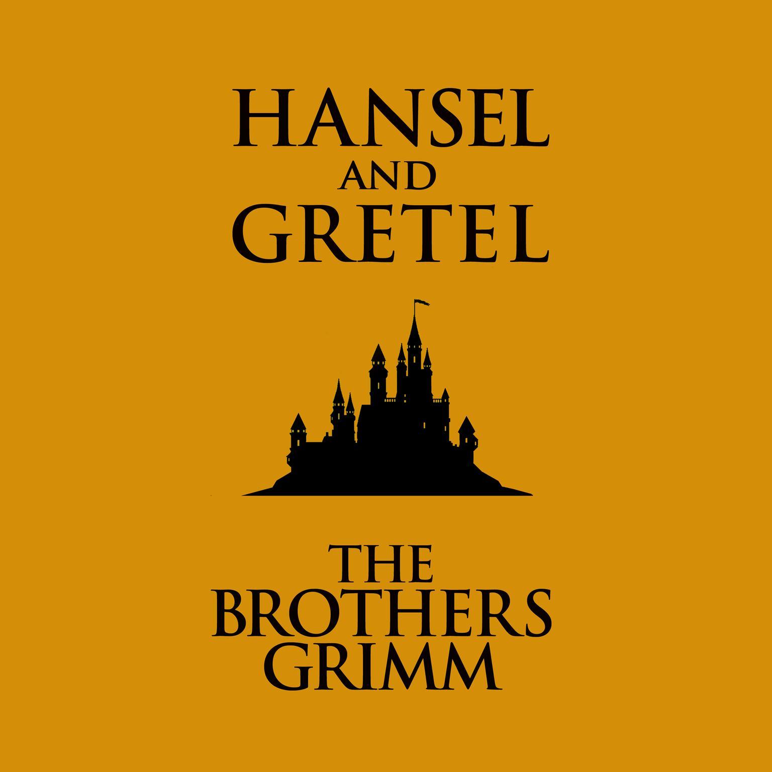 Printable Hansel and Gretel Audiobook Cover Art