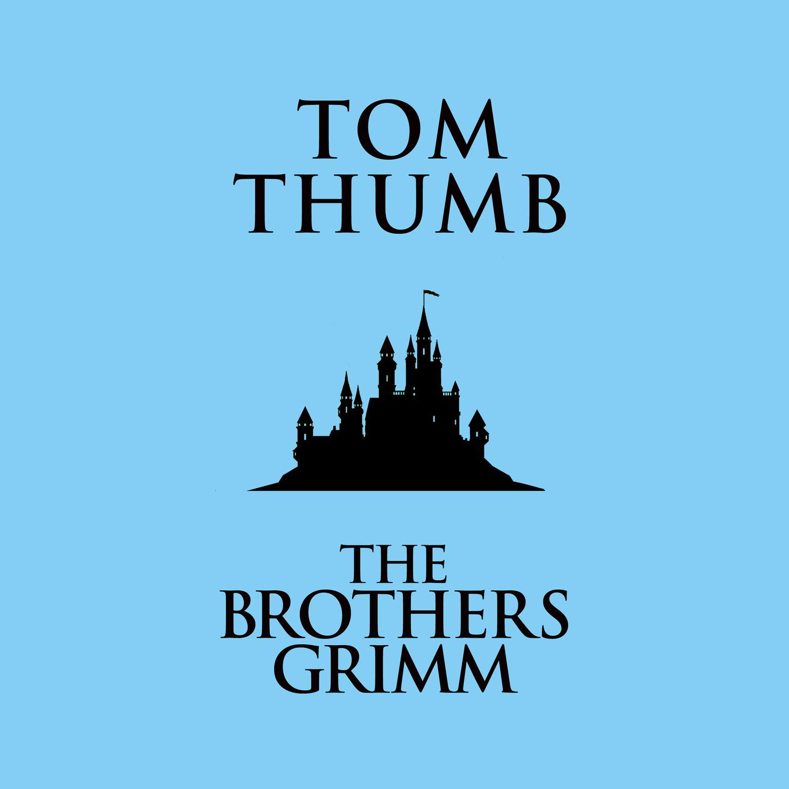 Printable Tom Thumb Audiobook Cover Art