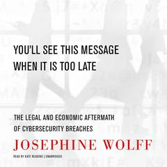 You'll See This Message When It Is Too Late: The Legal and Economic Aftermath of Cybersecurity Breaches  Audiobook, by Josephine Wolff