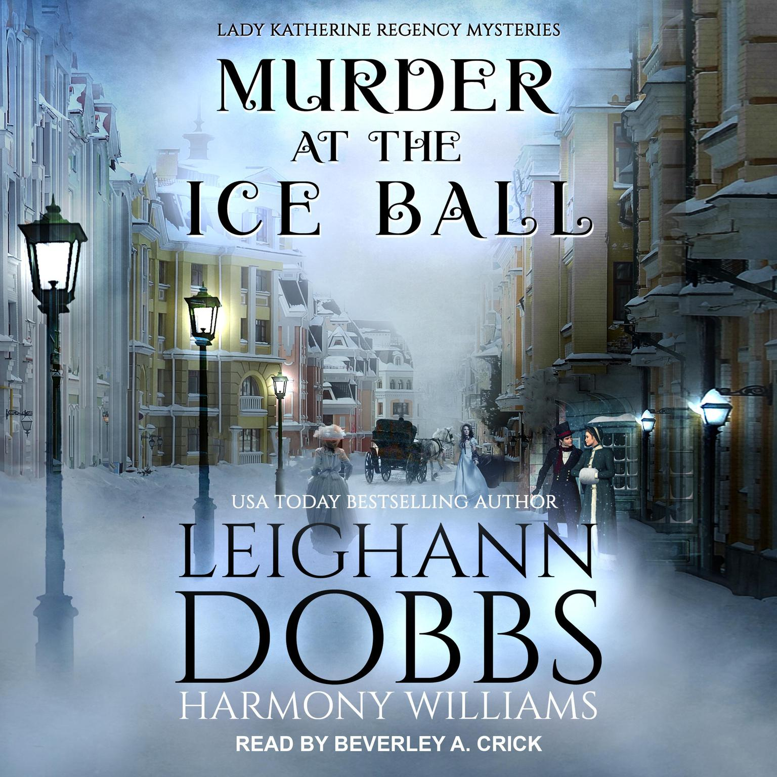 Printable Murder at the Ice Ball Audiobook Cover Art
