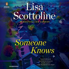 Someone Knows Audiobook, by Lisa Scottoline