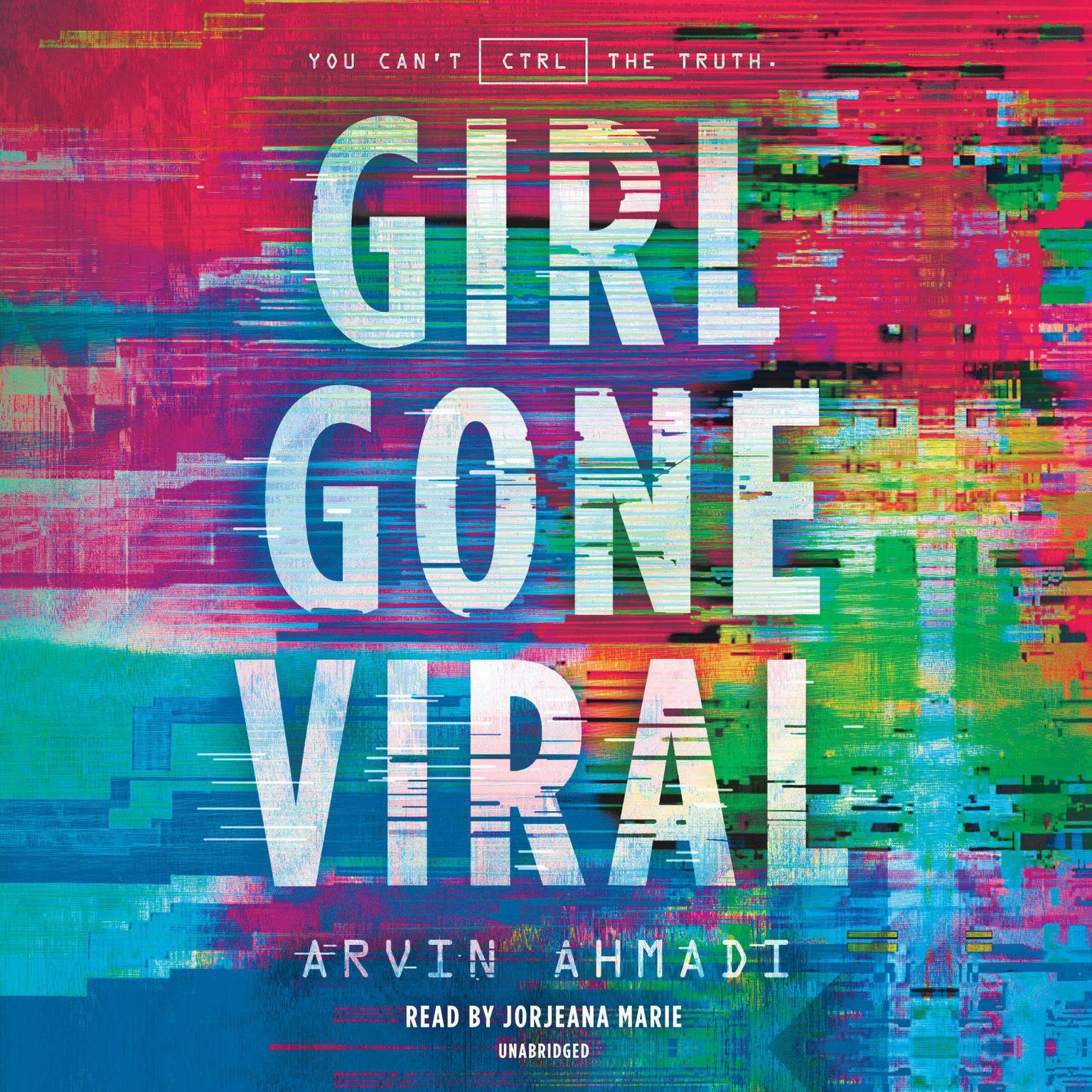 Printable Girl Gone Viral Audiobook Cover Art