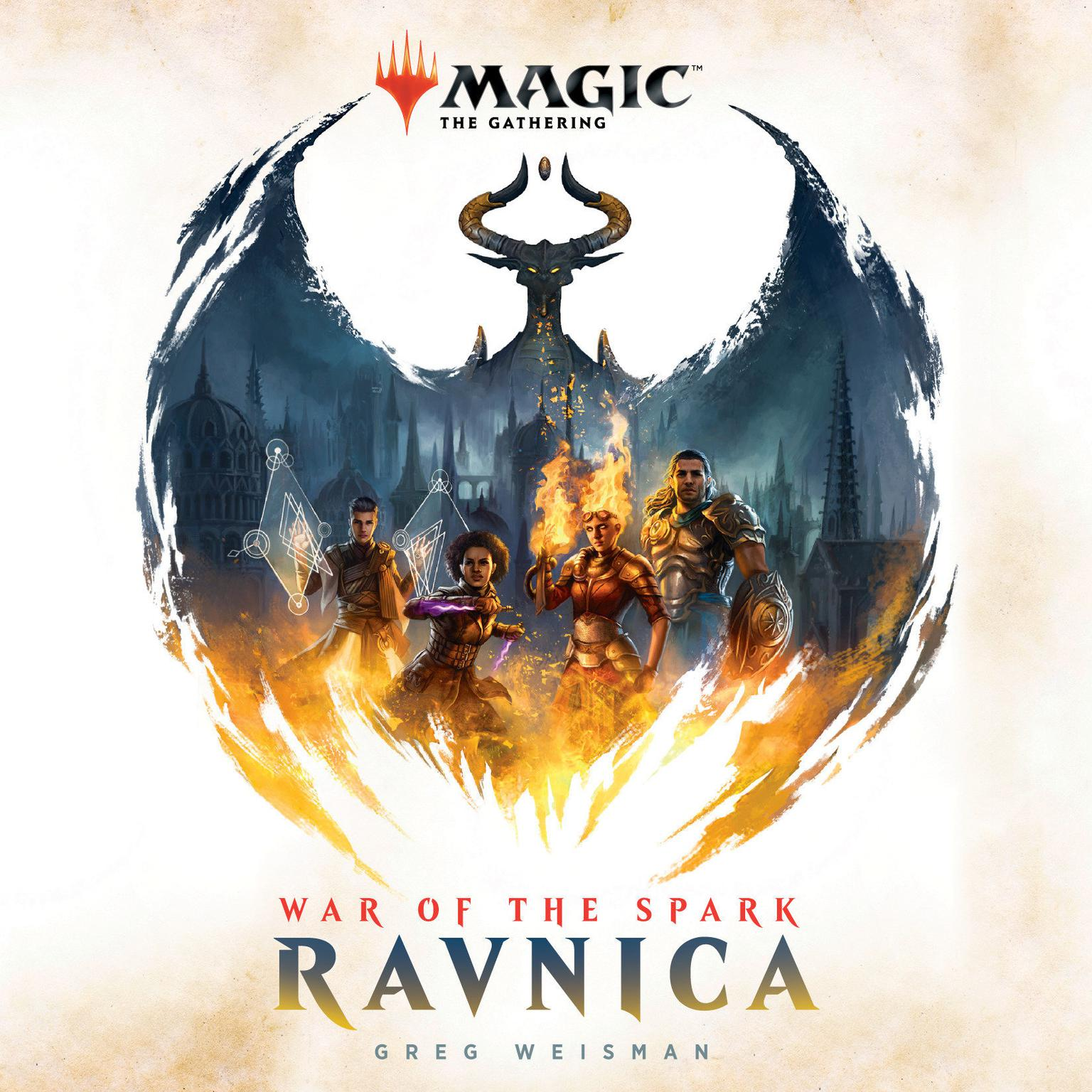 Printable War of the Spark: Ravnica (Magic: The Gathering) Audiobook Cover Art