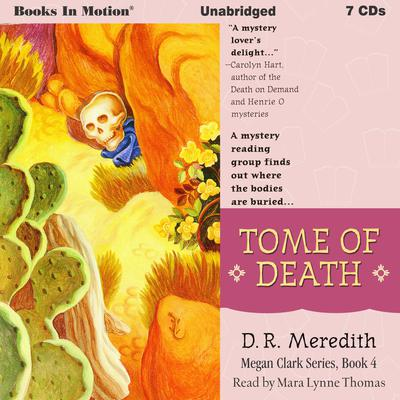 Tome Of Death: Megan Clark Series, Book 4 Audiobook, by D.R. Meredith