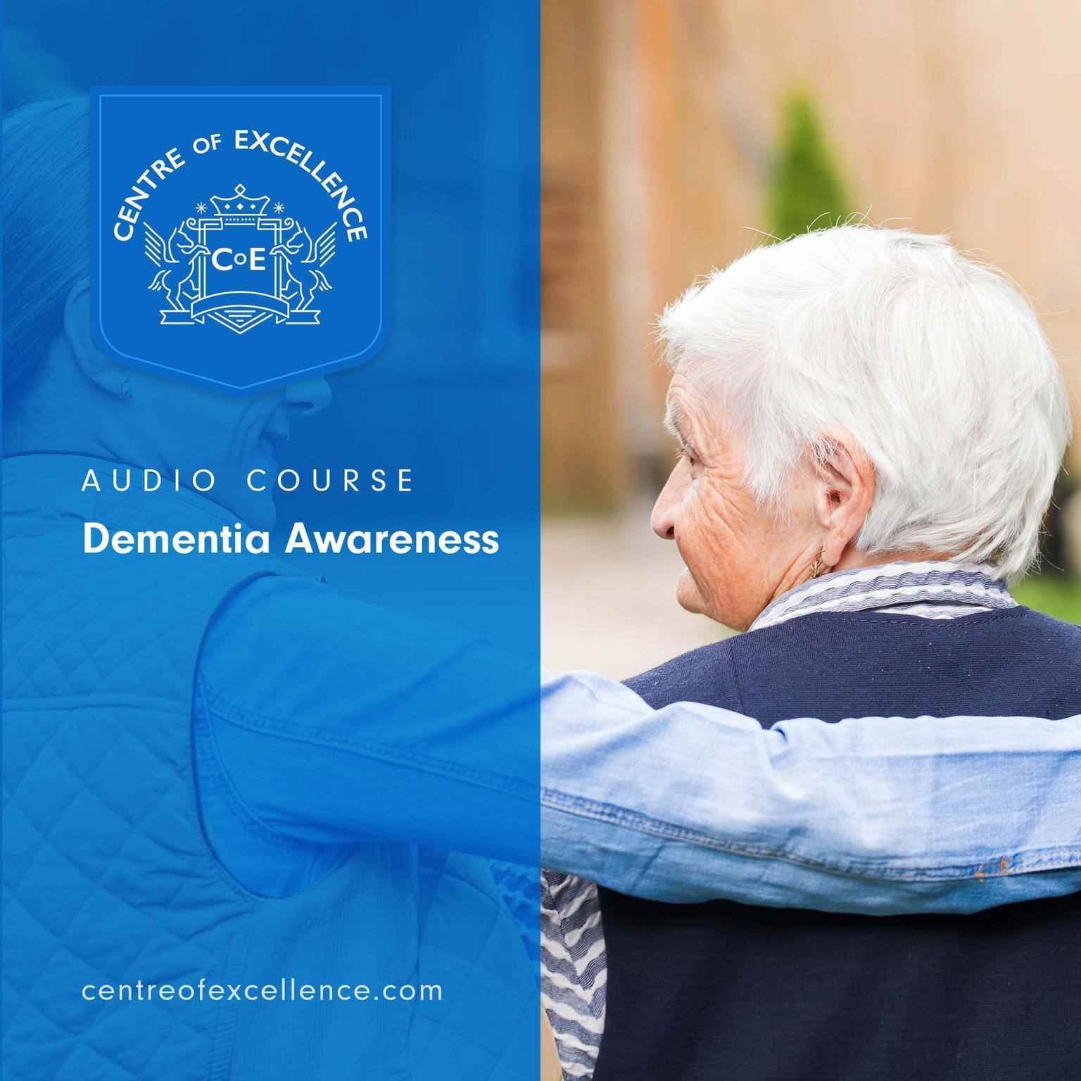 Printable Dementia Awareness Audiobook Cover Art