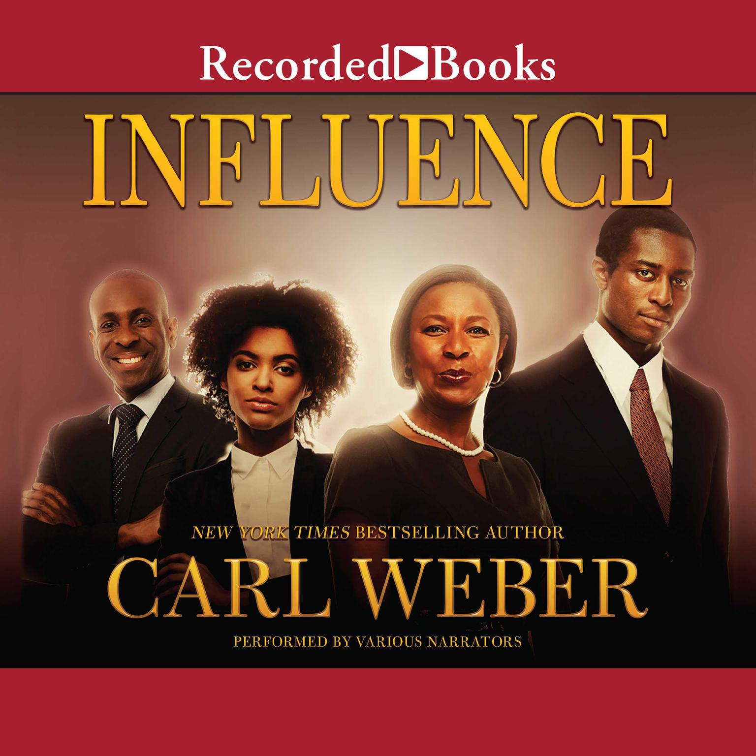 Printable Influence Audiobook Cover Art