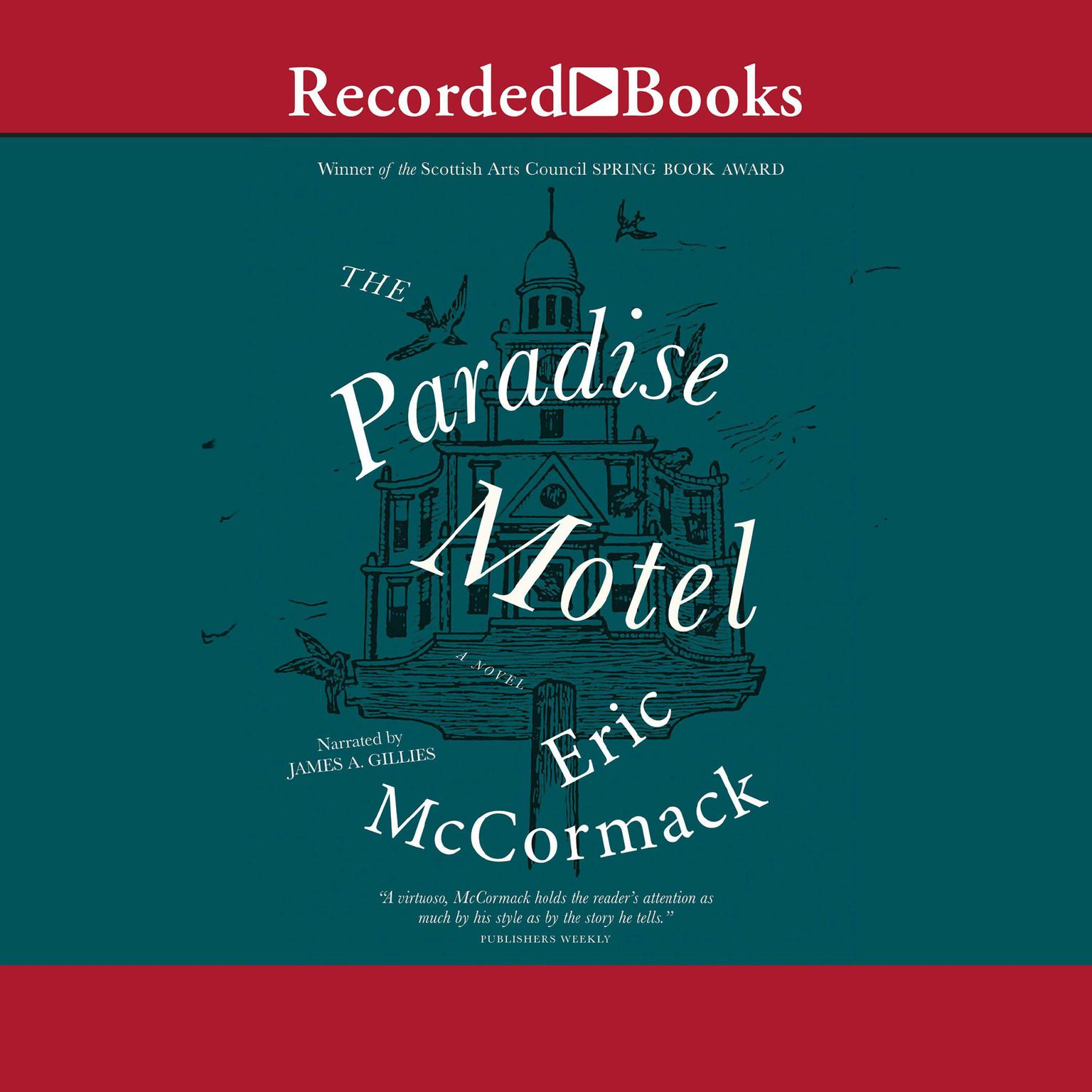 Printable The Paradise Motel Audiobook Cover Art