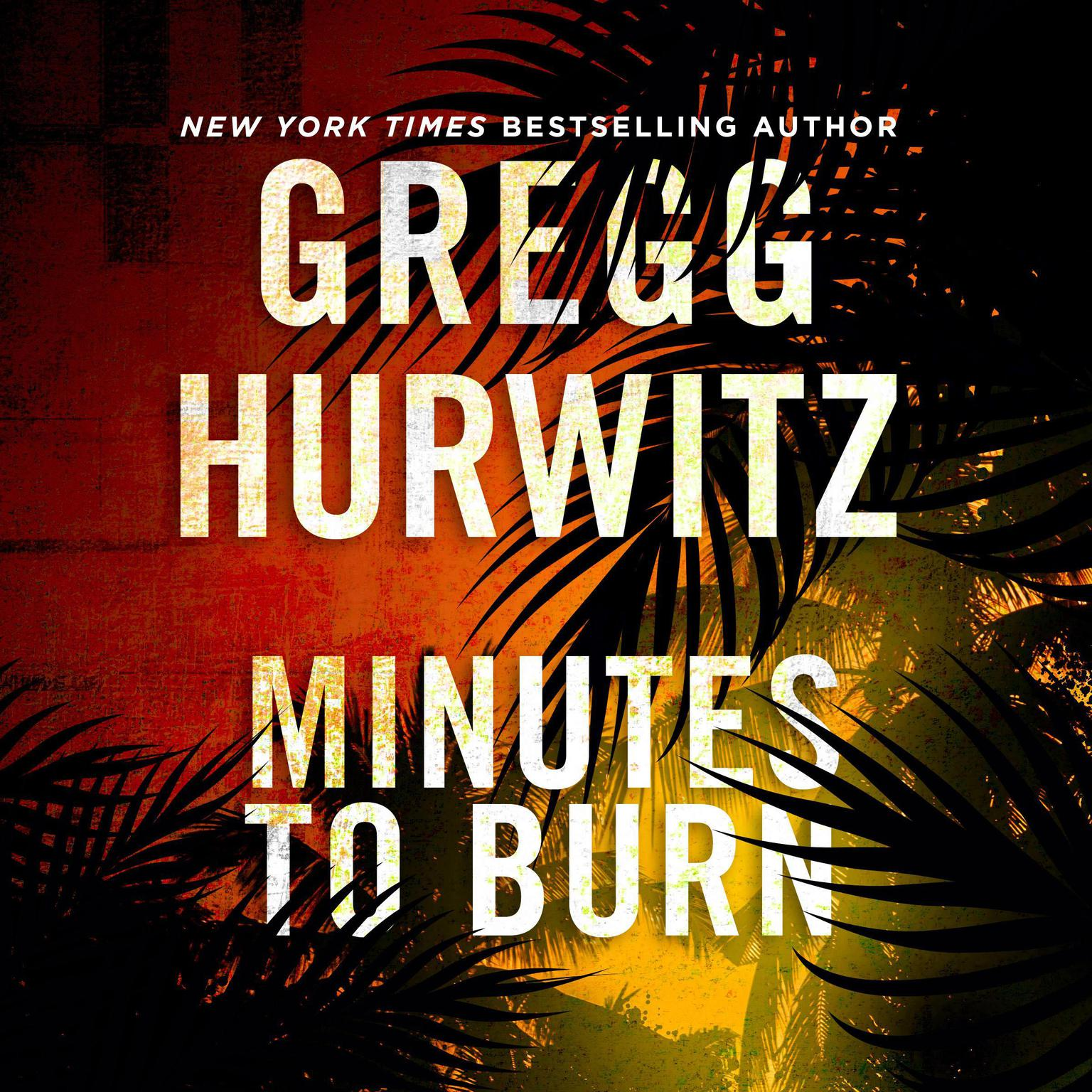 Printable Minutes to Burn Audiobook Cover Art