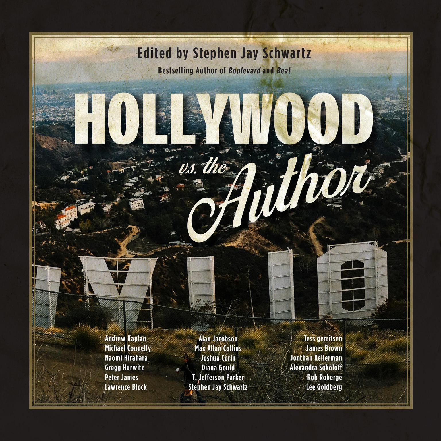 Printable Hollywood vs. The Author Audiobook Cover Art